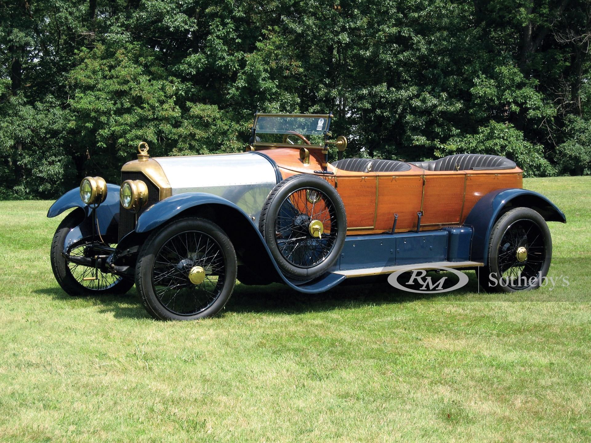 1912 Gobron-Brillie 12 CV Skiff Tourer