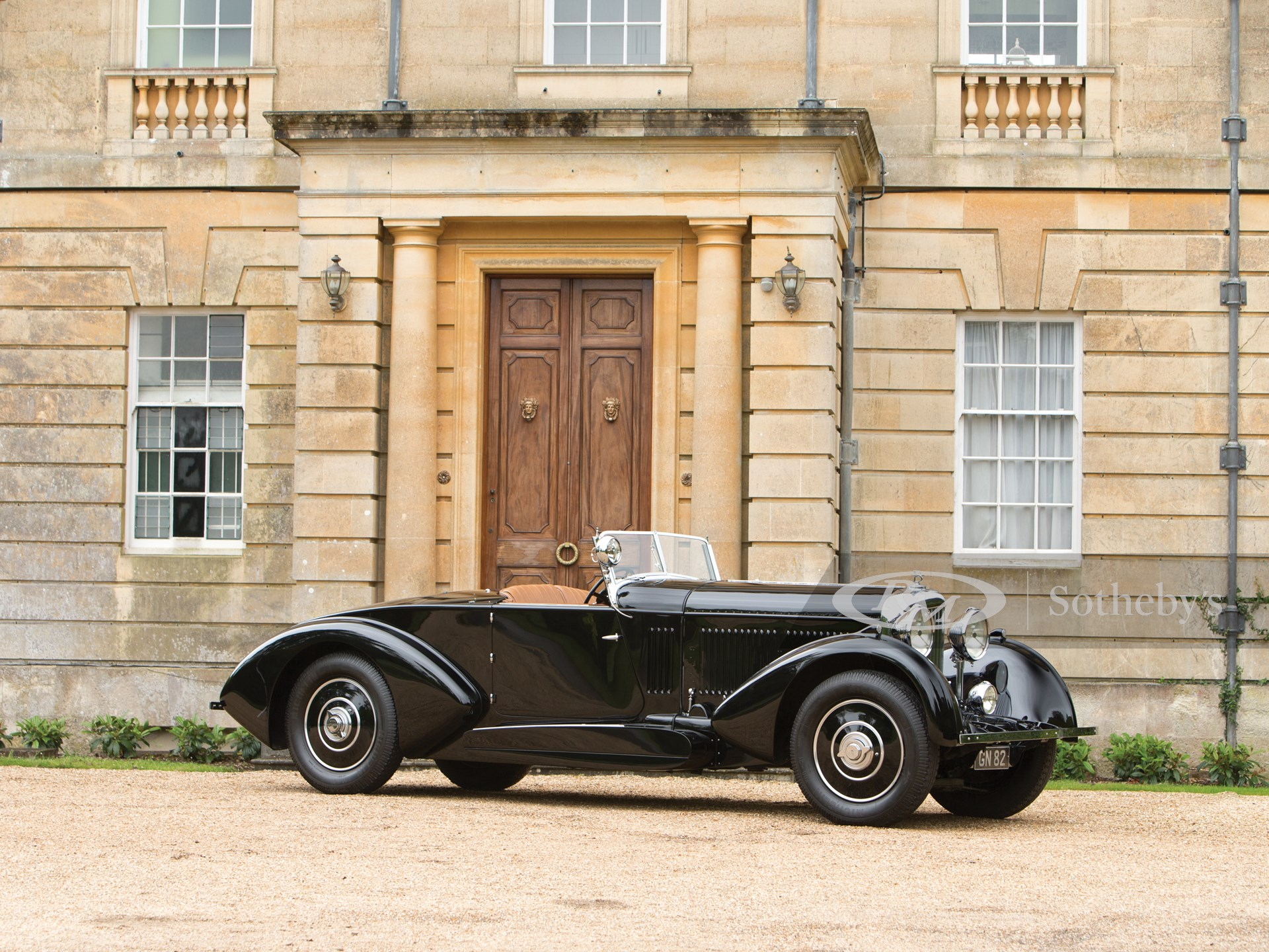 1931 Bentley 8-Litre Sports Coupe Cabriolet by Barker