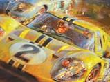 Le Mans 1967 by Alfredo de la María, 1990 - $