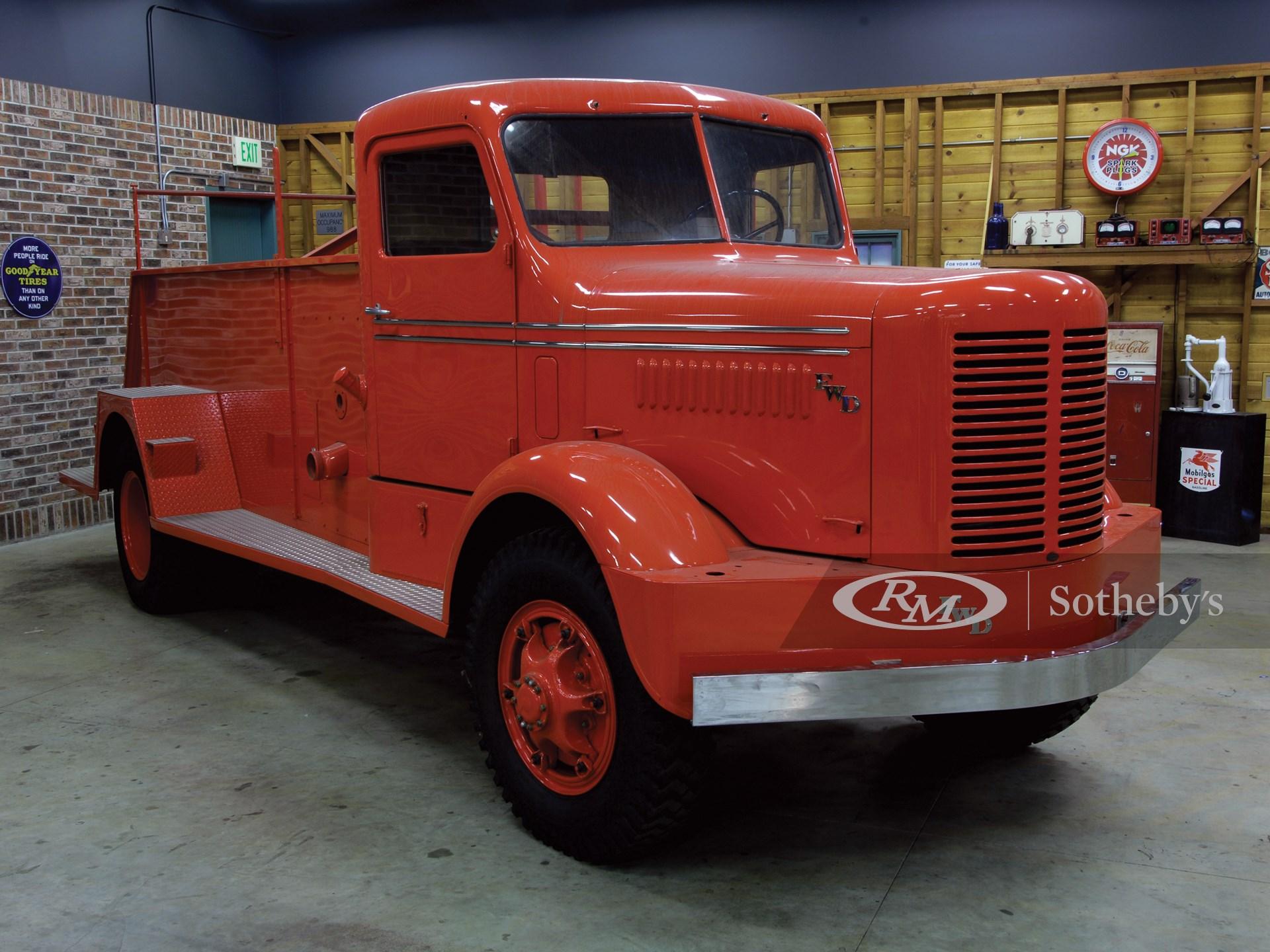 1950 FWD Pumper Fire Truck