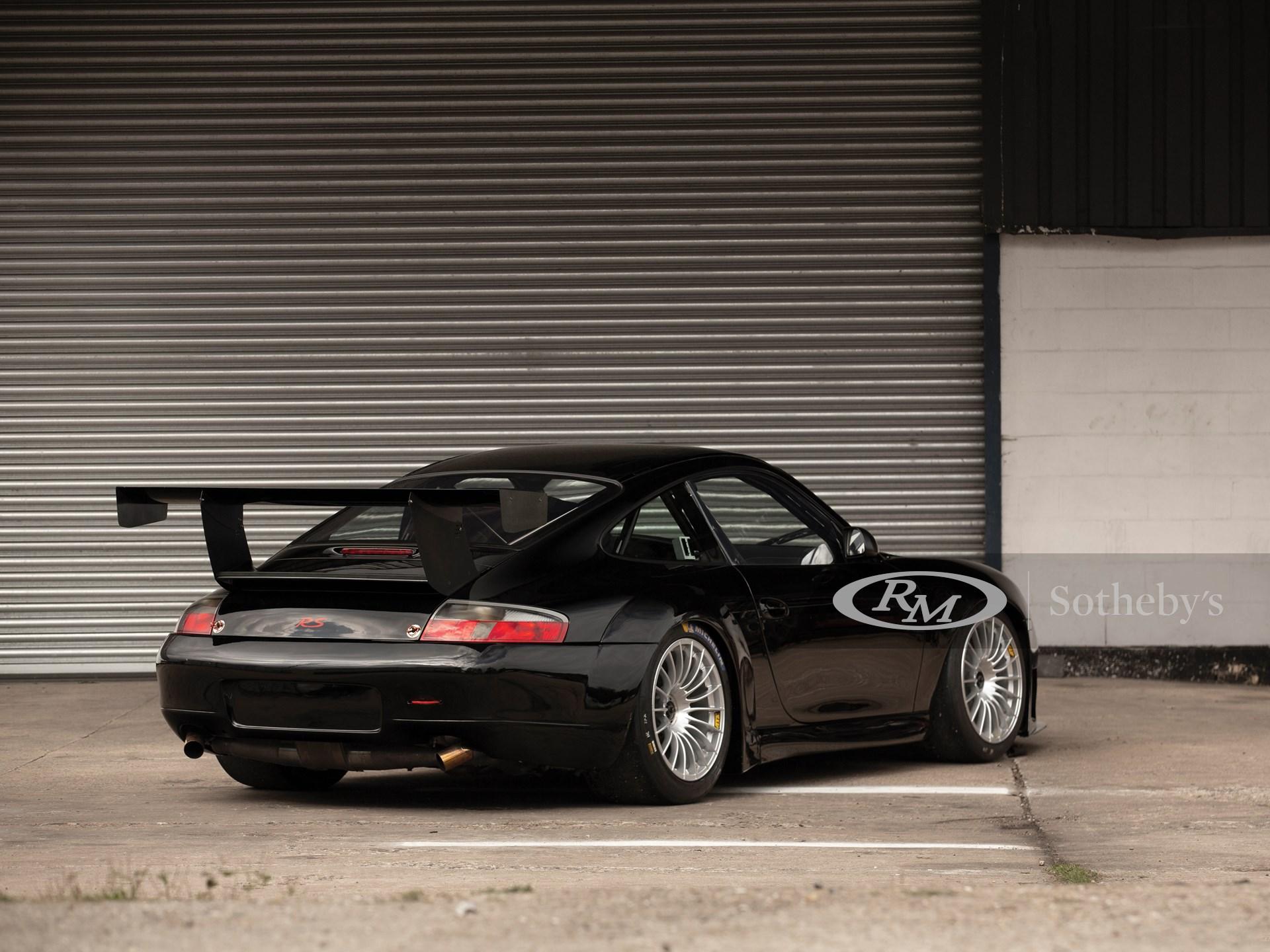 2001 Porsche 911 GT3 RS  -