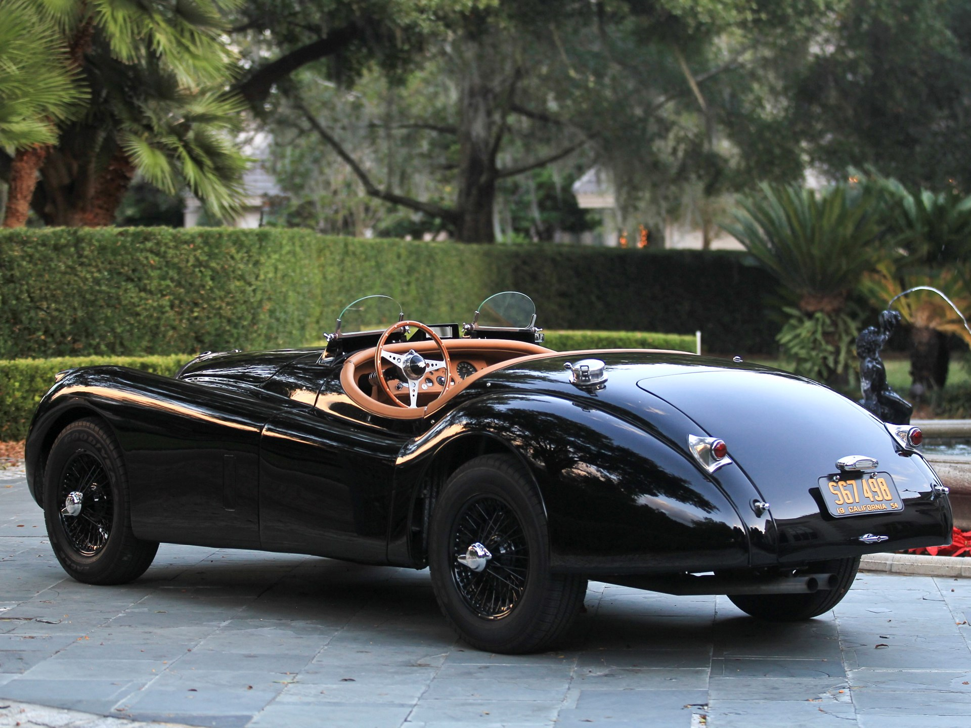 rm sotheby's - 1954 jaguar xk120 se roadster | amelia island 2012
