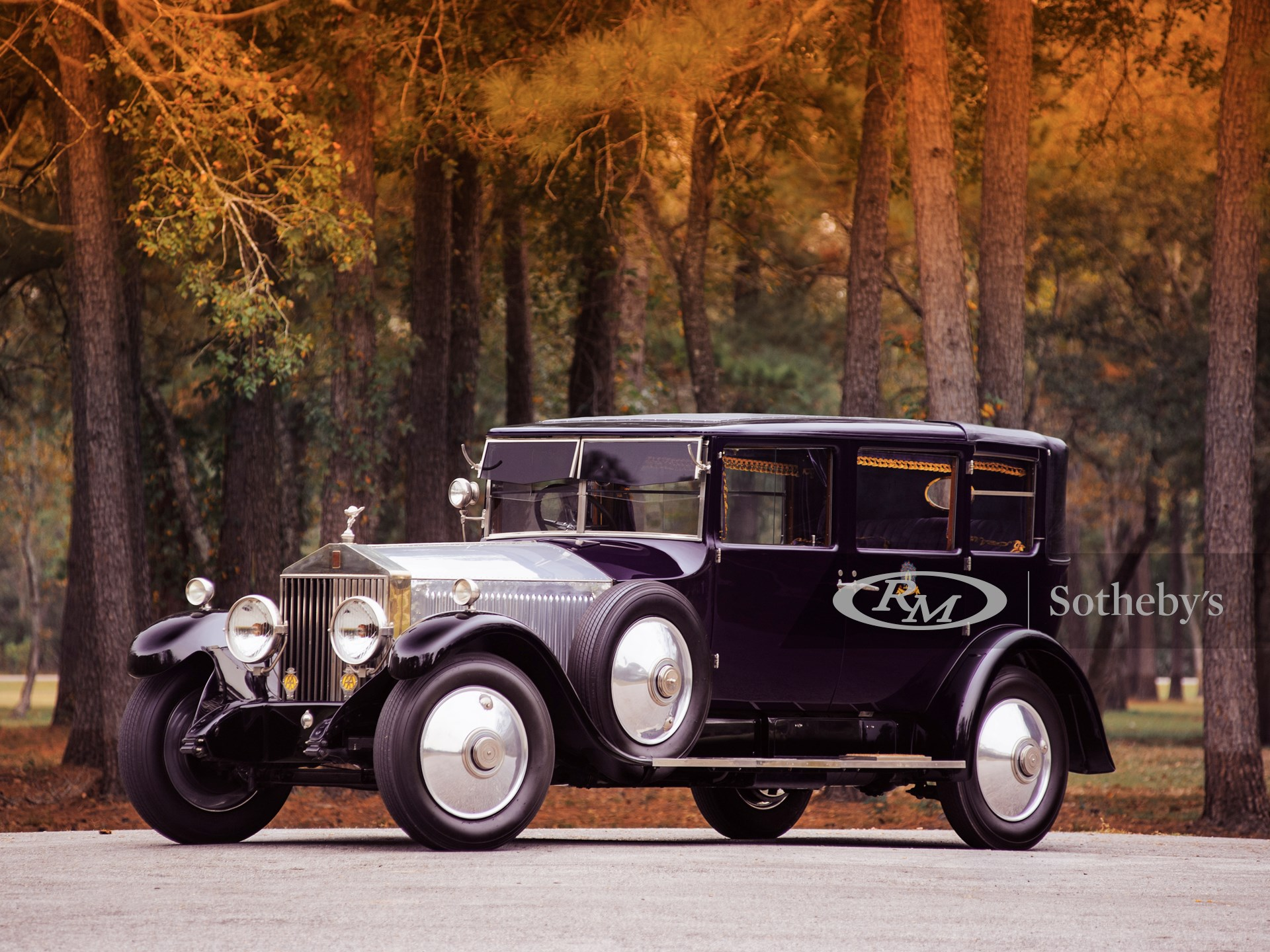 1927 Rolls-Royce Phantom I Enclosed Drive Landaulette by Arthur Mulliner -