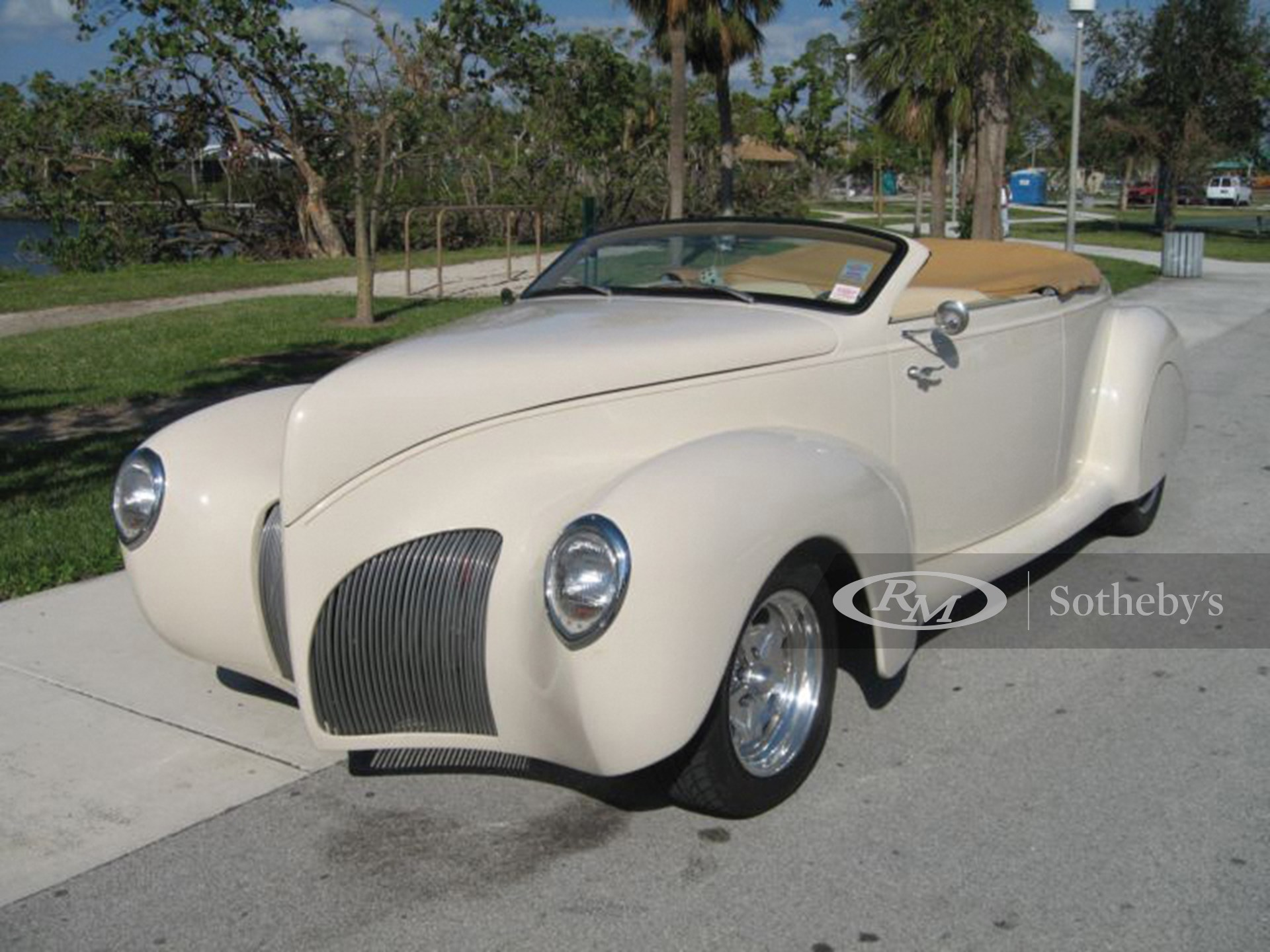 1939 Lincoln Zephyr Custom Roadster  -