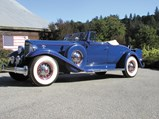 1933 Packard Twelve 2/4-Passenger Coupe Roadster  - $
