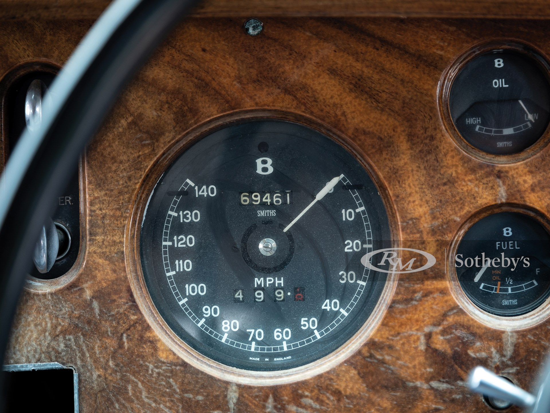 1960 Bentley S2 Continental Flying Spur by H.J. Mulliner -