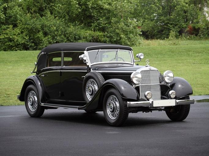 Rm sotheby 39 s 1937 mercedes benz 540 k spezial roadster for Mercedes benz monterey