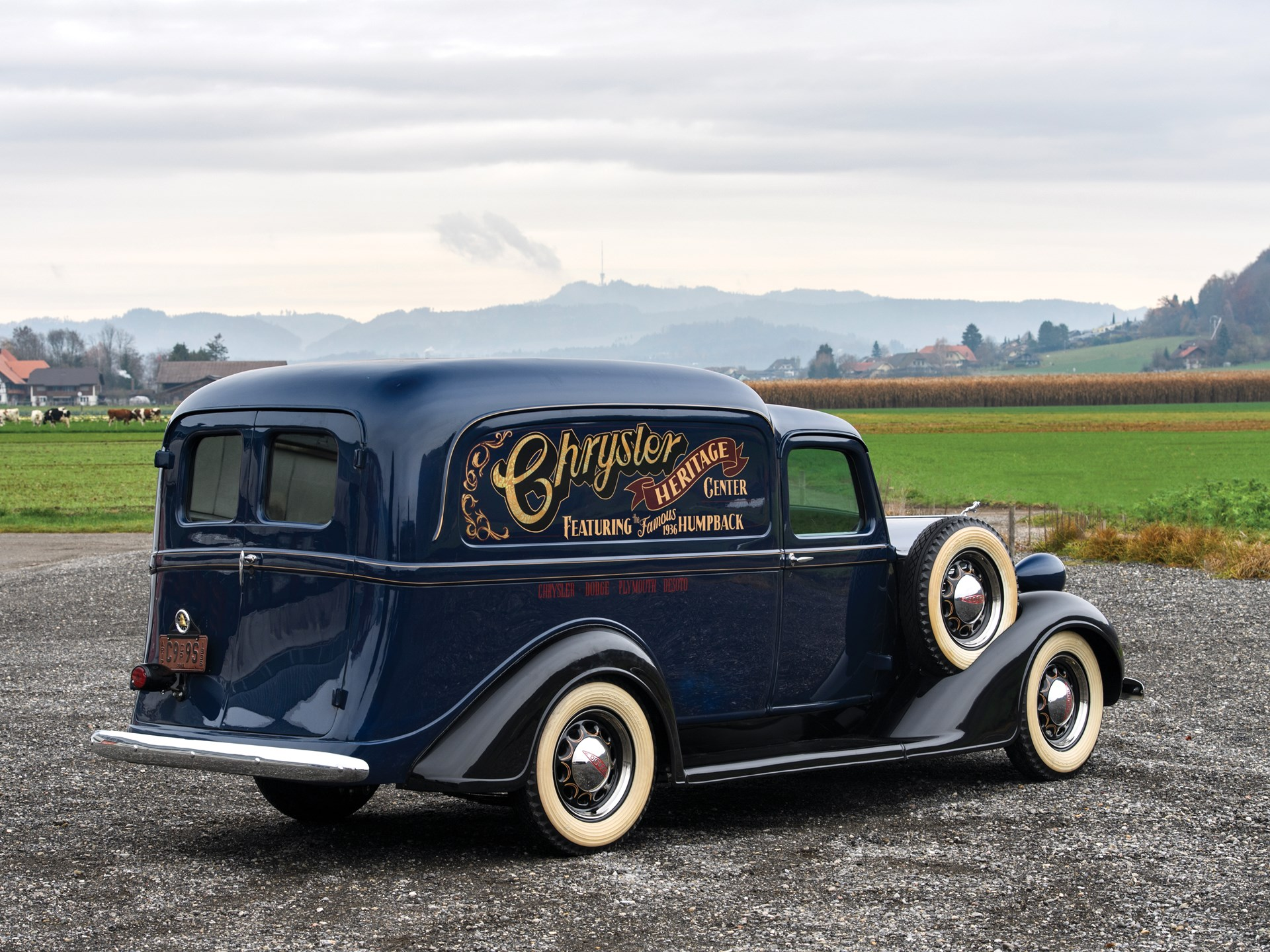 1936 Dodge Humpback Delivery Truck