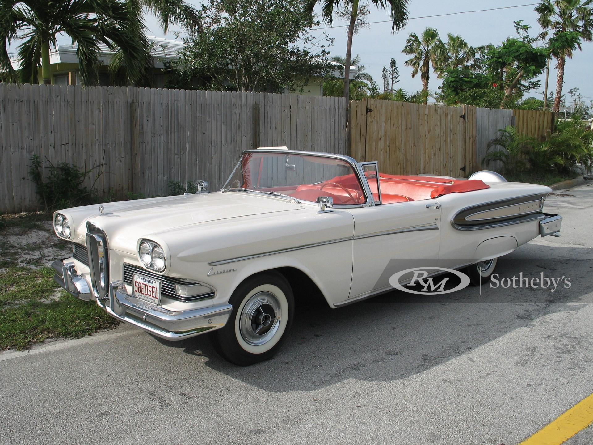 1958 Edsel Citation Convertible  -