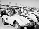 1954 Arnolt-Bristol Bolide Works Roadster by Bertone - $Arnolt Bristol car 58 at 1955 Sebring 12 Hours race, PHOTO BY Ozzie Lyons 1955