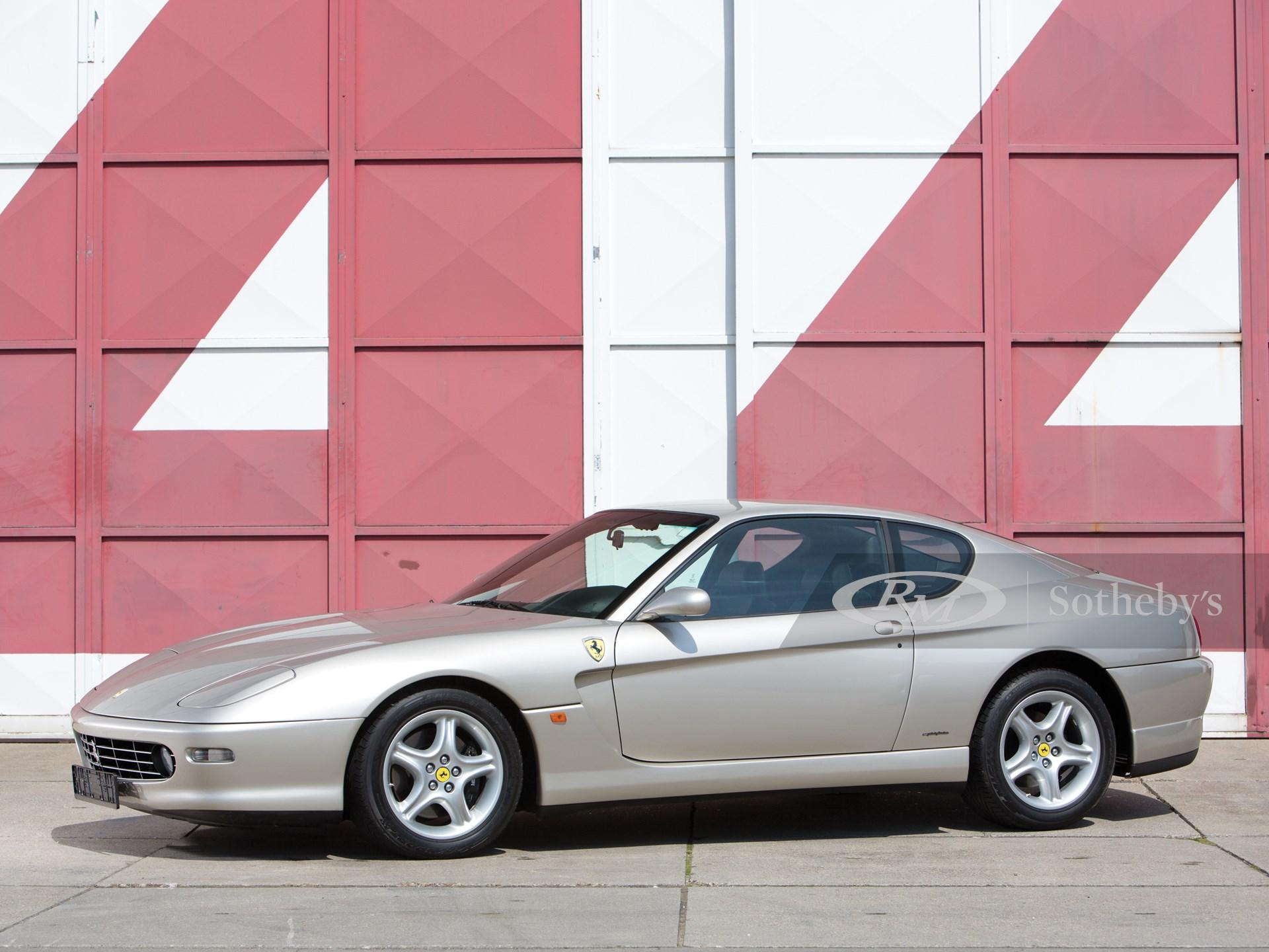 1998 Ferrari 456m Gt London 2013 Rm Sotheby S