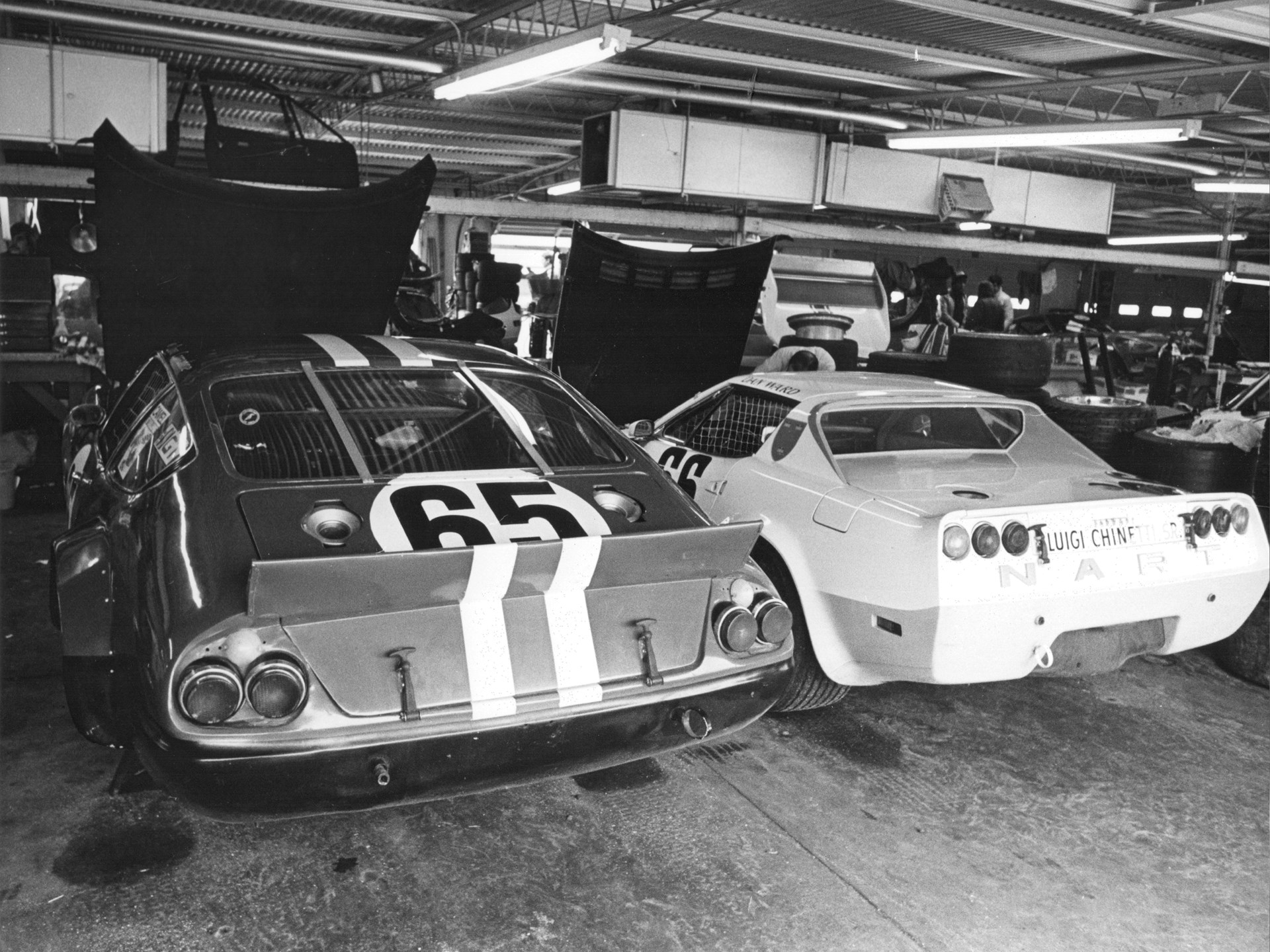 Chassis no. 15965 at the 1978 24 Hours of Daytona.