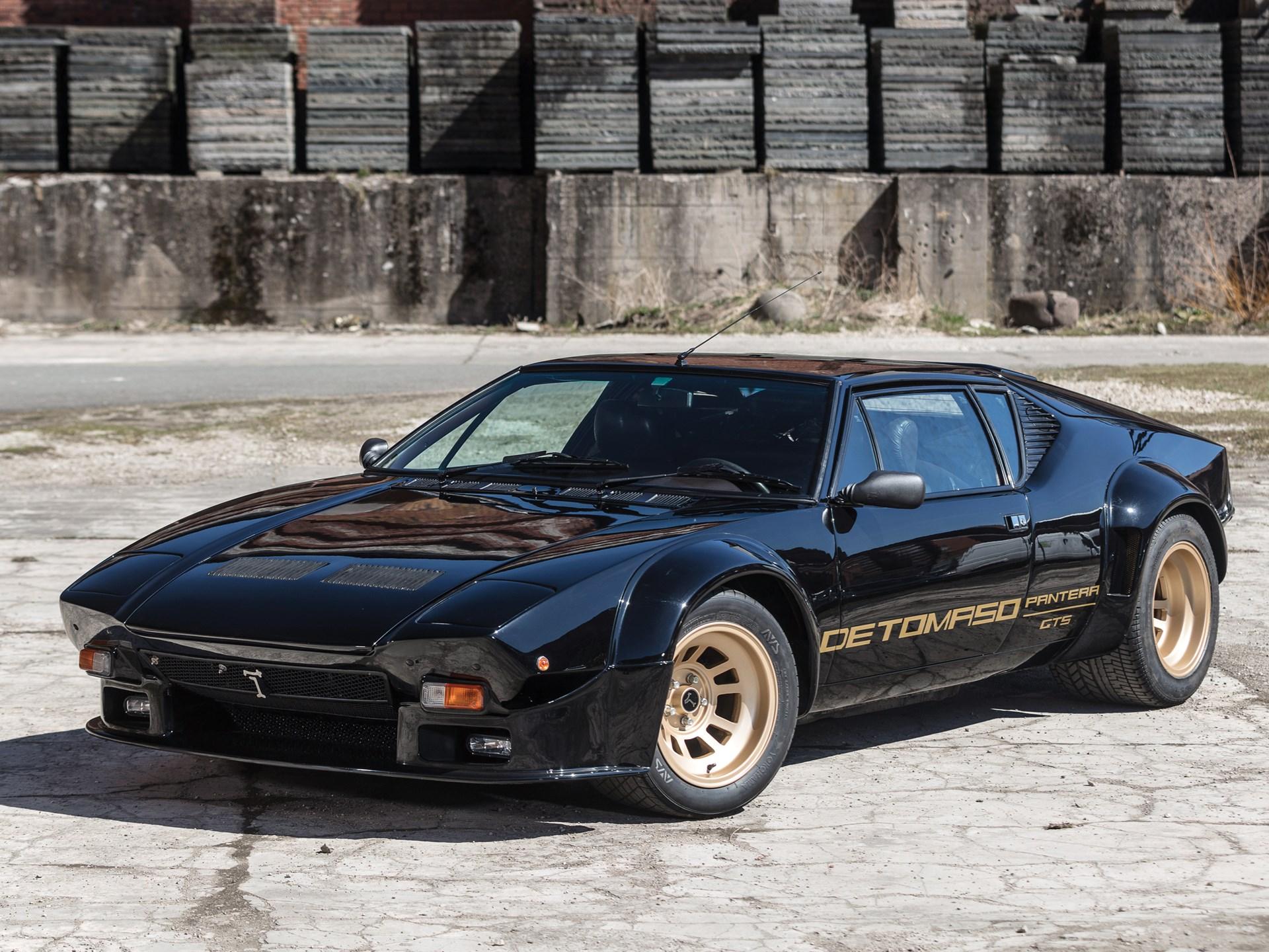 De Tomaso Pantera Performance >> Rm Sotheby S 1984 De Tomaso Pantera Gt5 Monaco 2018