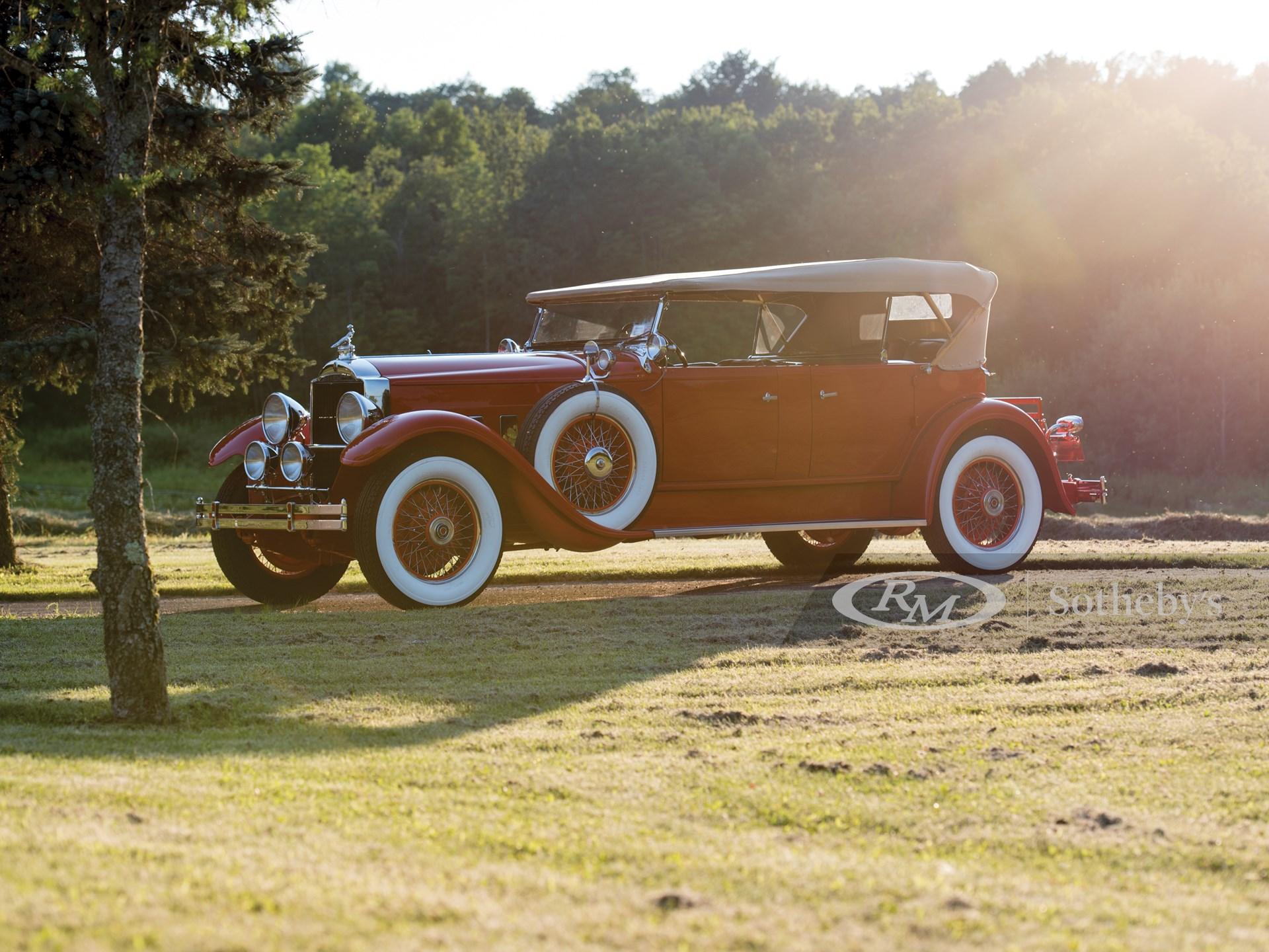 1929 Packard Deluxe Eight Tonneau Cowl Sport Phaeton by Dietrich