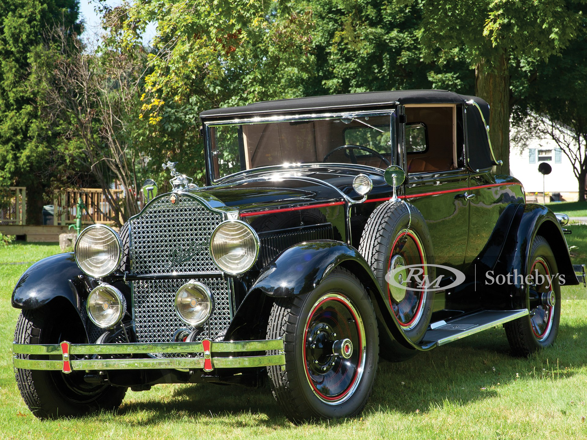 1929 Packard Eight Convertible Coupe