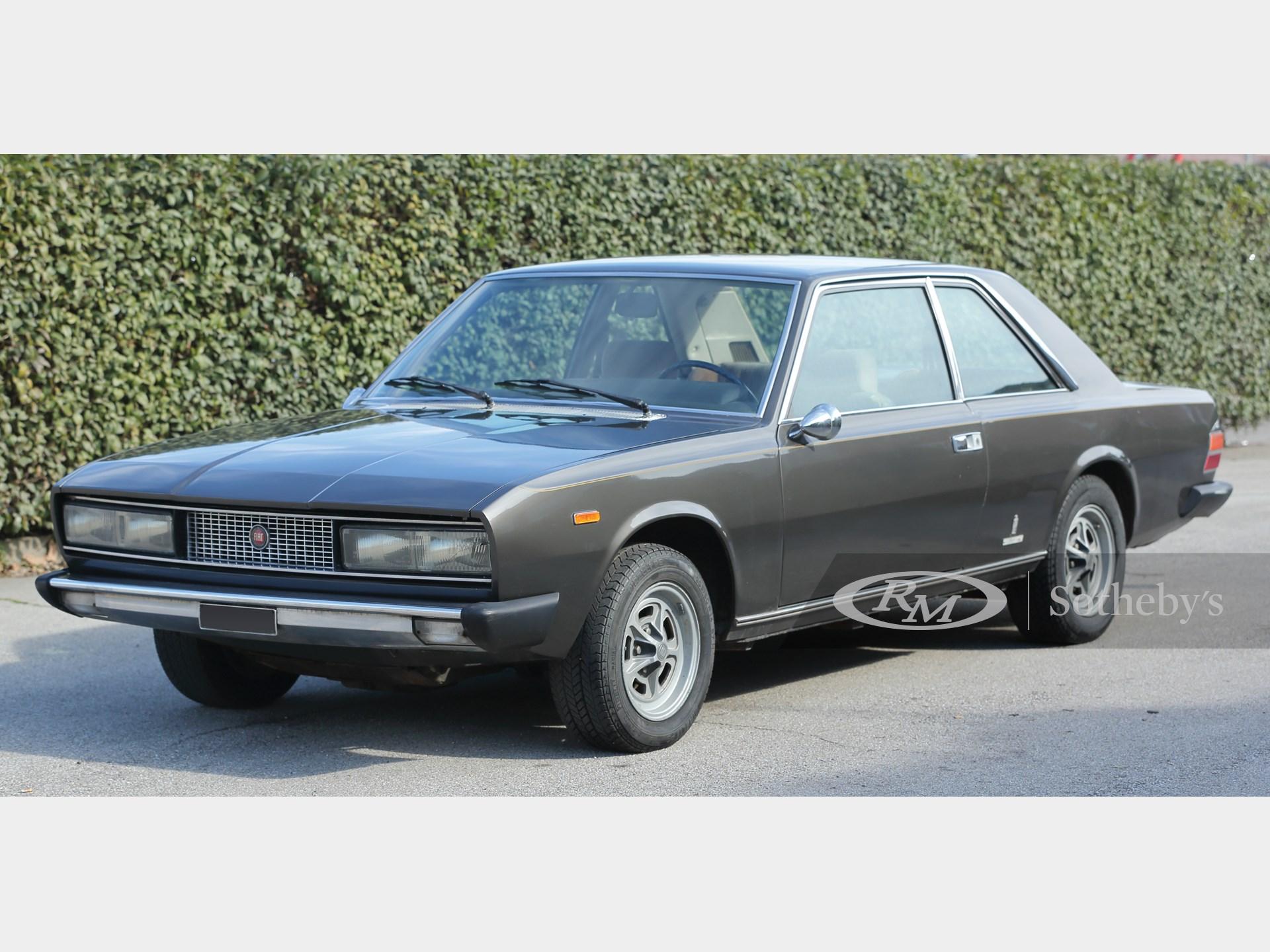 1973 Fiat 130 Coupé Essen 2019 Rm Sotheby S