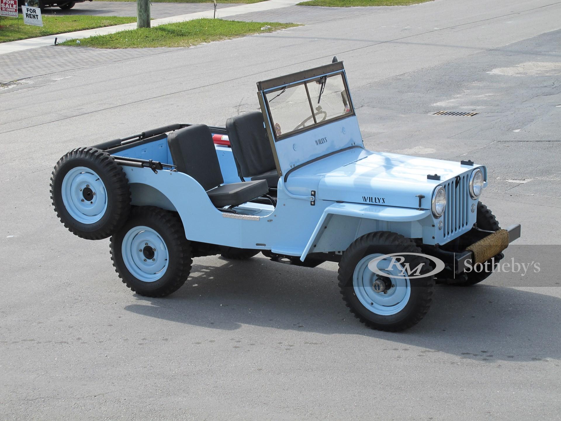 1949 Willys Jeep CJ3