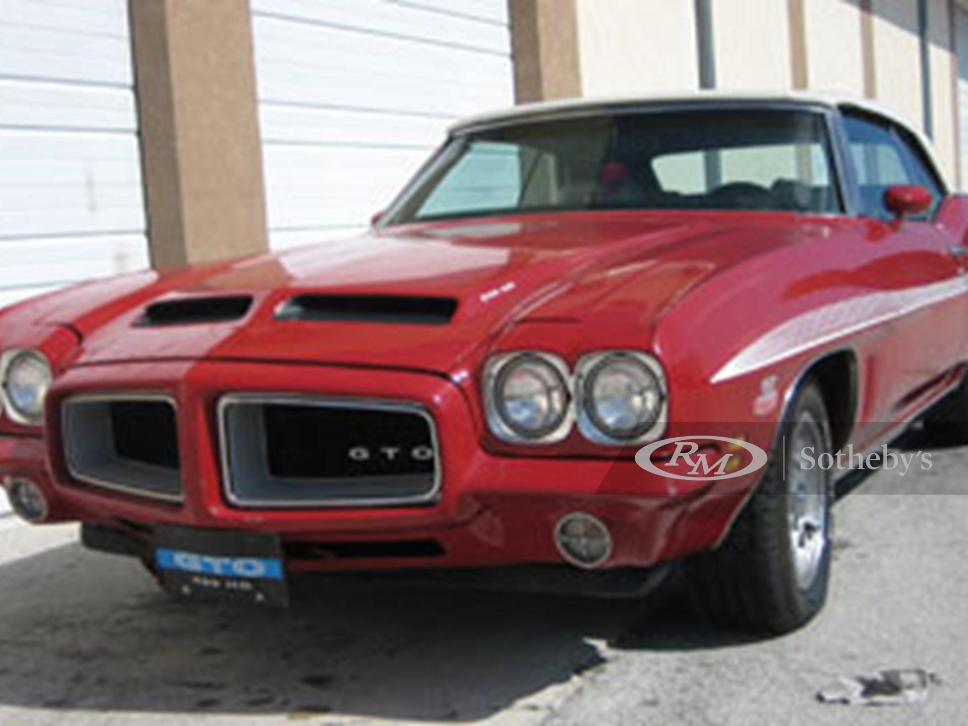 1972 Pontiac GTO Convertible