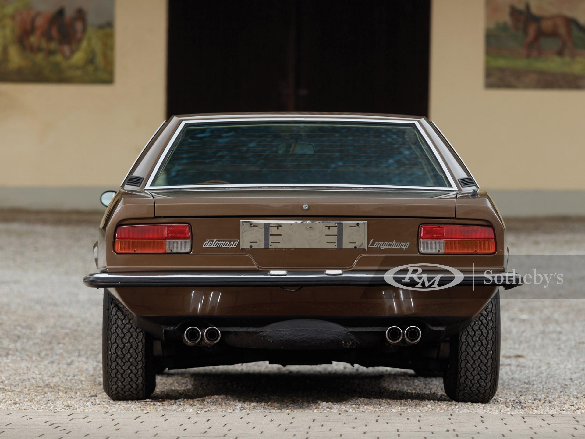 1978 De Tomaso Longchamp  -