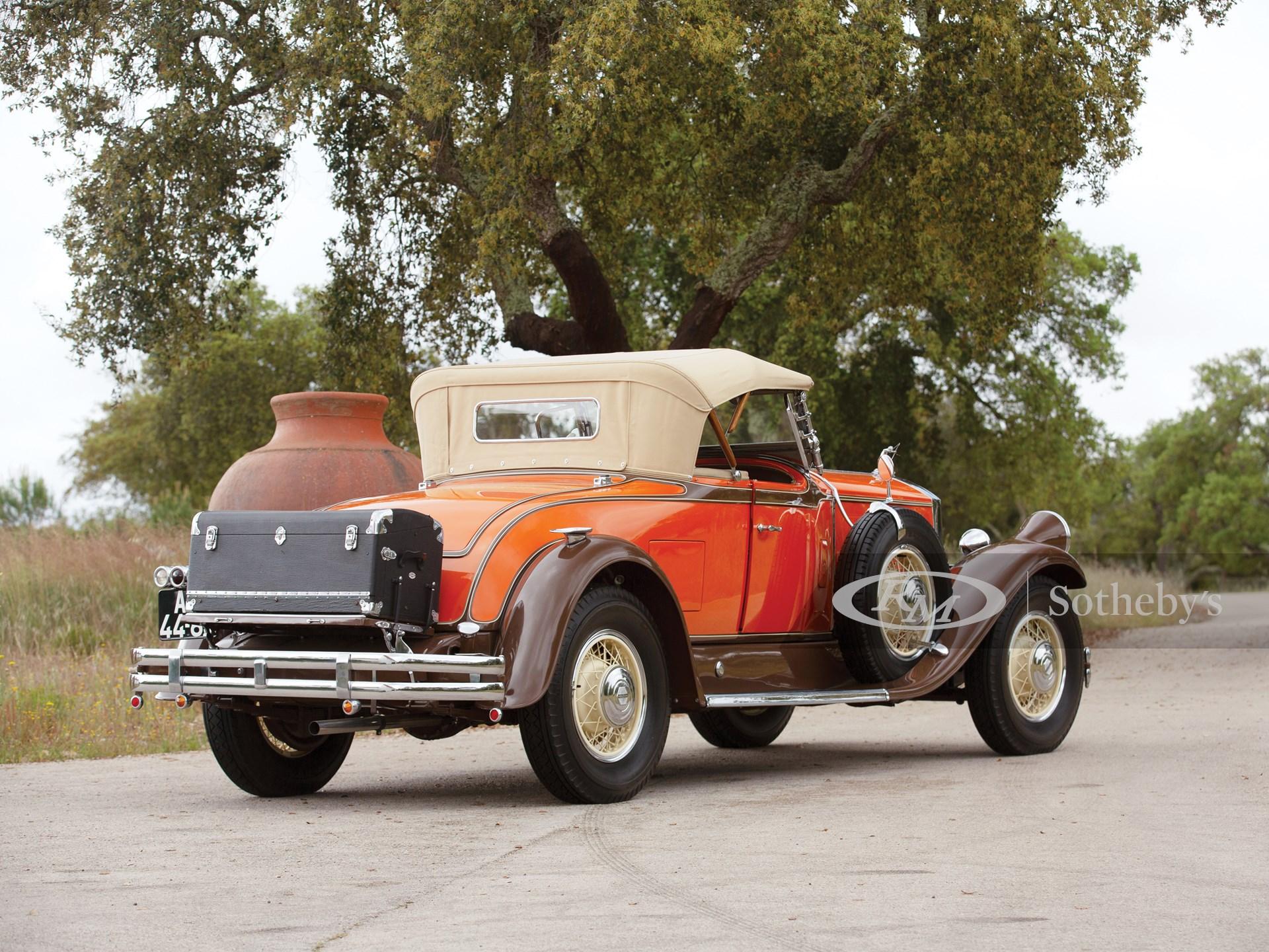 1931 Pierce-Arrow Model B125 Roadster  -