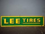 Lee Tires Tin Sign - $