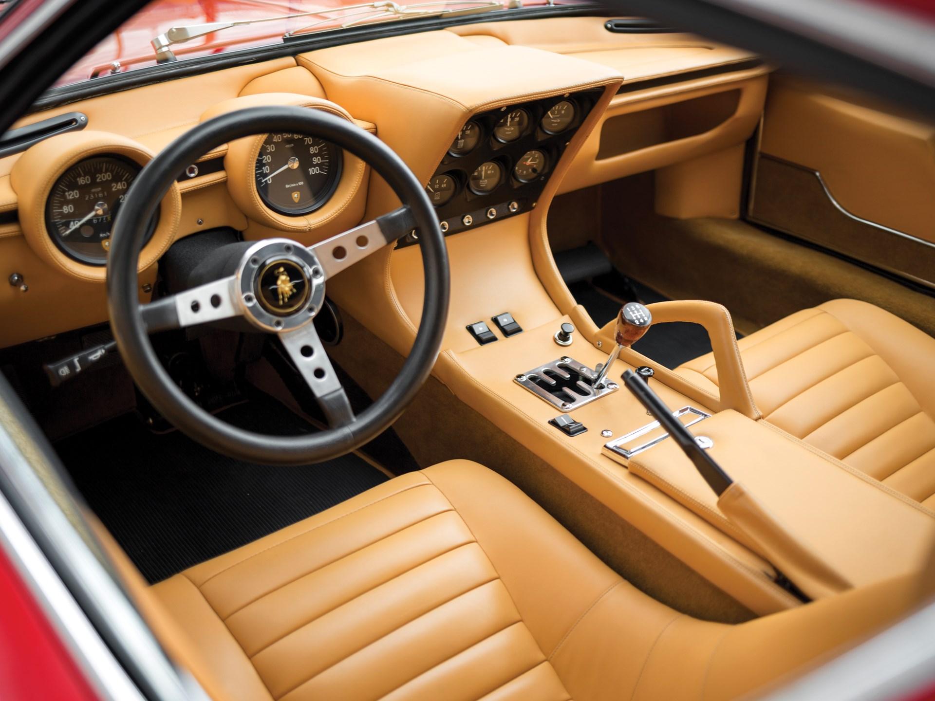 Rm Sotheby S 1971 Lamborghini Miura P400 Sv By Bertone Monterey 2015