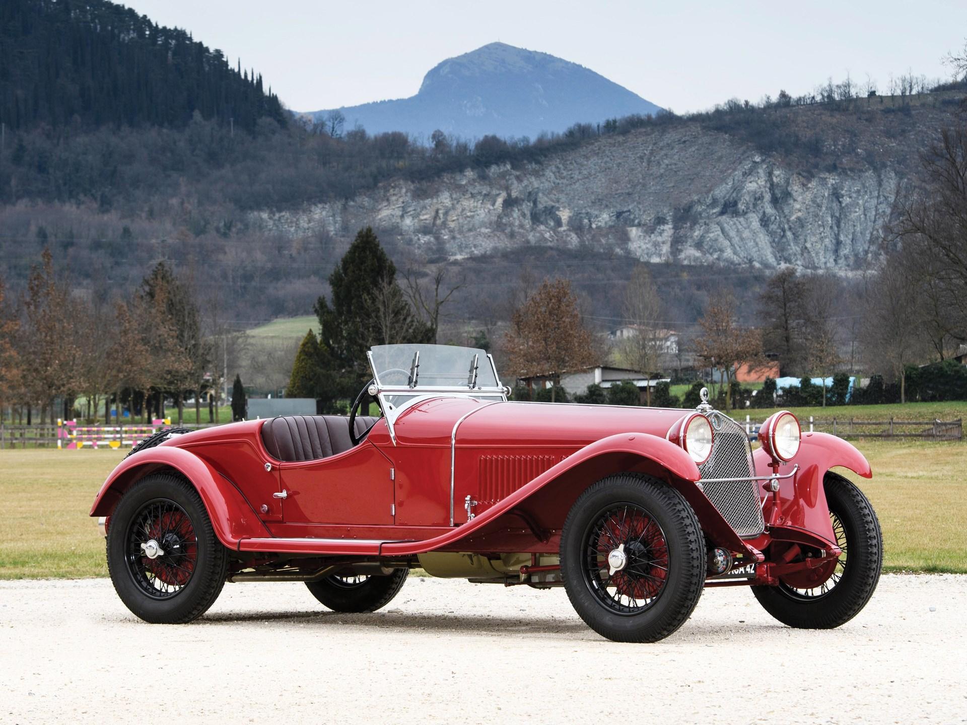 1930 Alfa Romeo 6c 1750 Gran Sport Spider 4th Series By Carrozzeria Sport S A