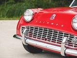 1960 Triumph TR3A  - $