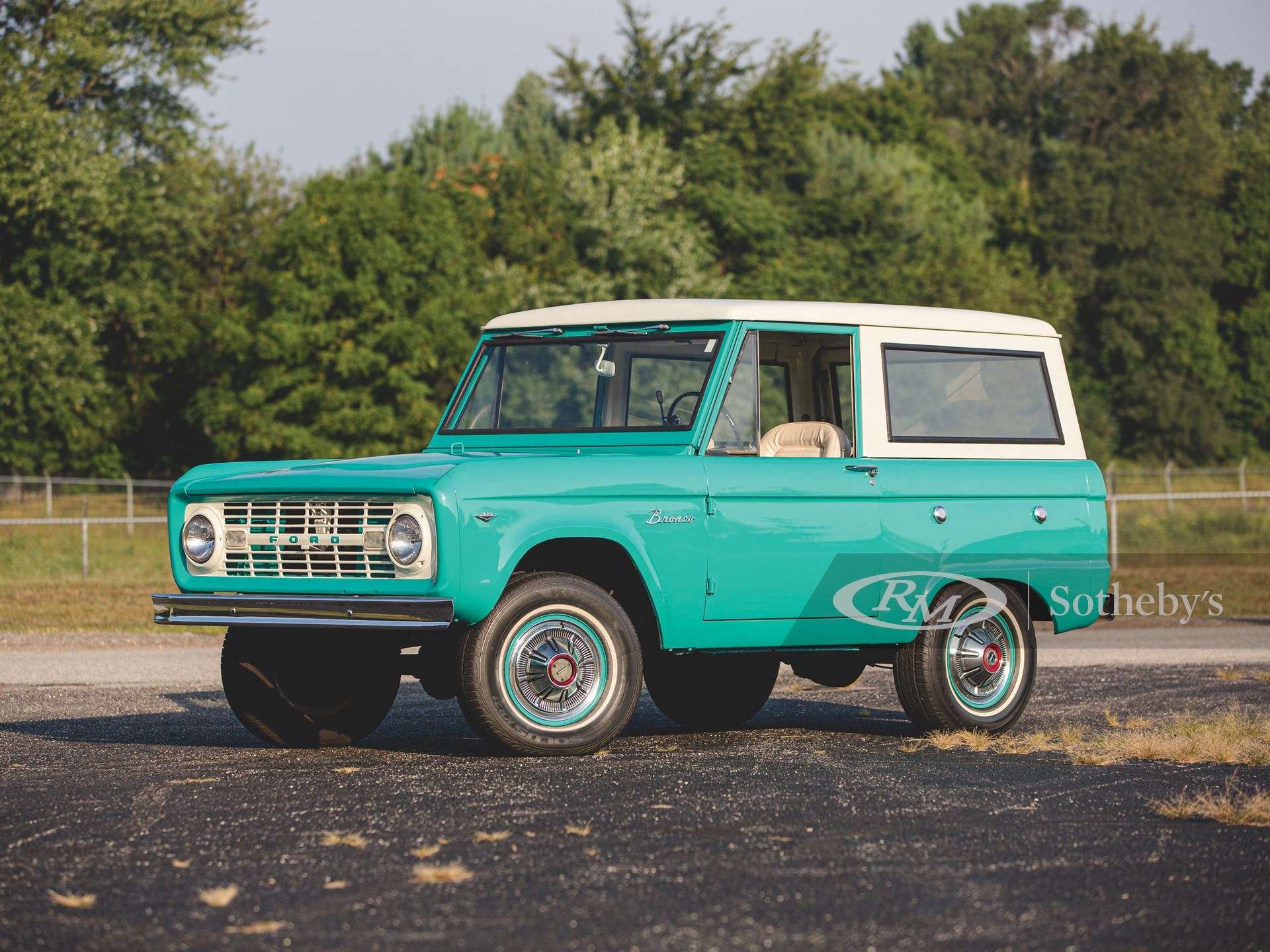 1967 Ford Bronco The Elkhart Collection Rm Sotheby S
