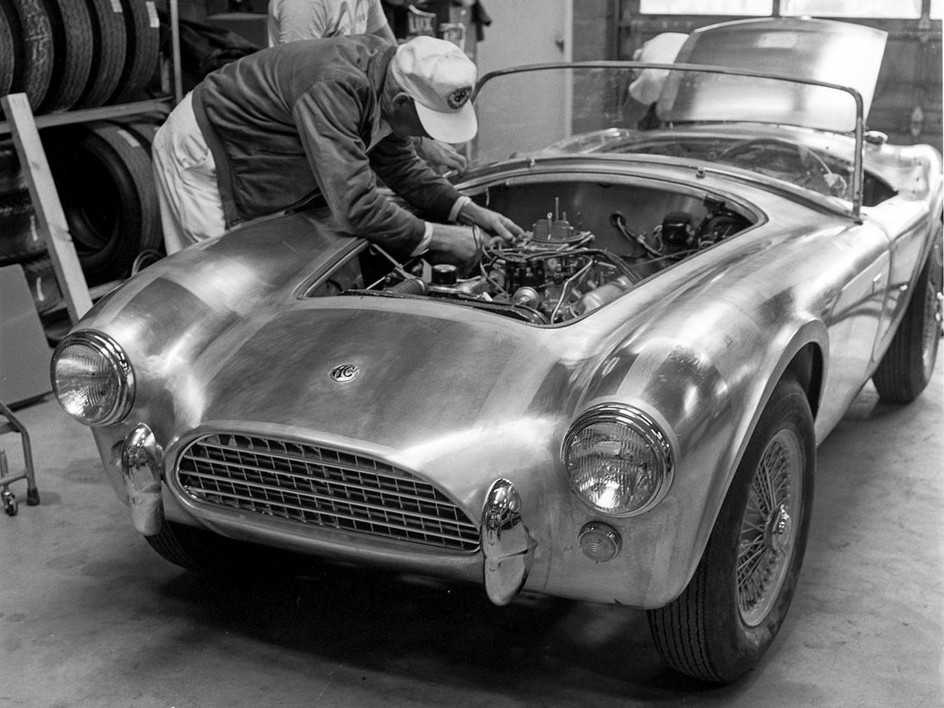 The first Shelby Cobra, CSX 2000.