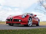 2008 Alfa Romeo 8C Competizione  - $