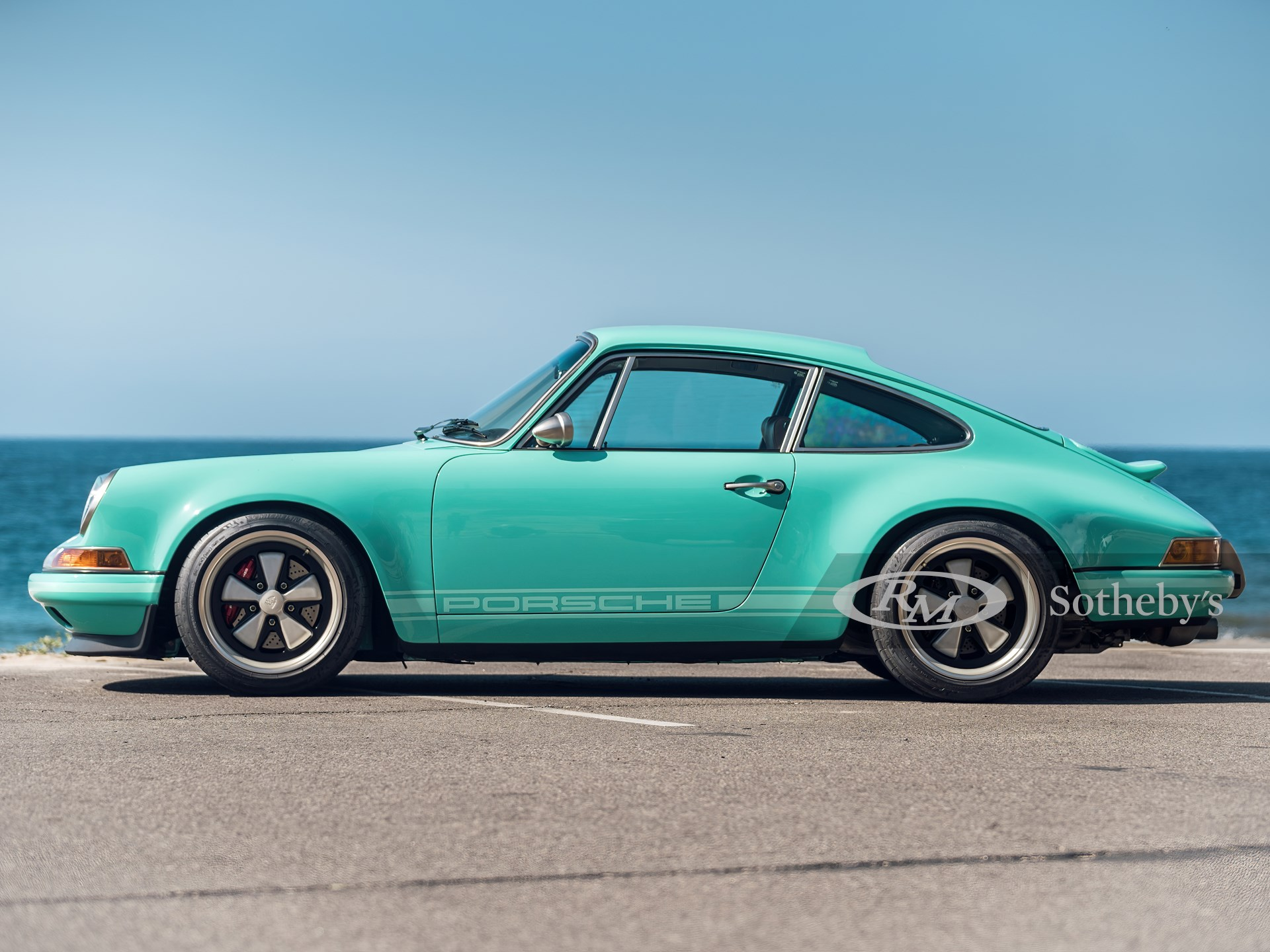 """1991 Porsche 911 """"Malibu"""" Reimagined by Singer -"""