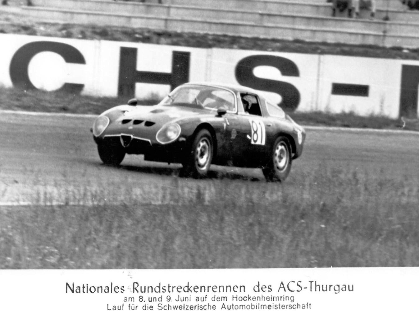 1965 Alfa Romeo Giulia Tubolare Zagato