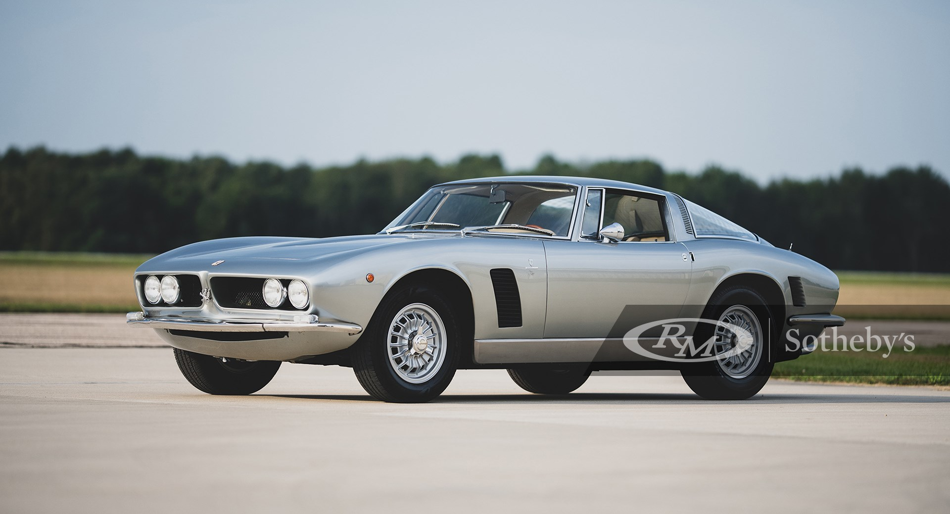 RM Sotheby's The Elkhart Collection 2020, 1968 Iso Grifo GL Series I by Bertone