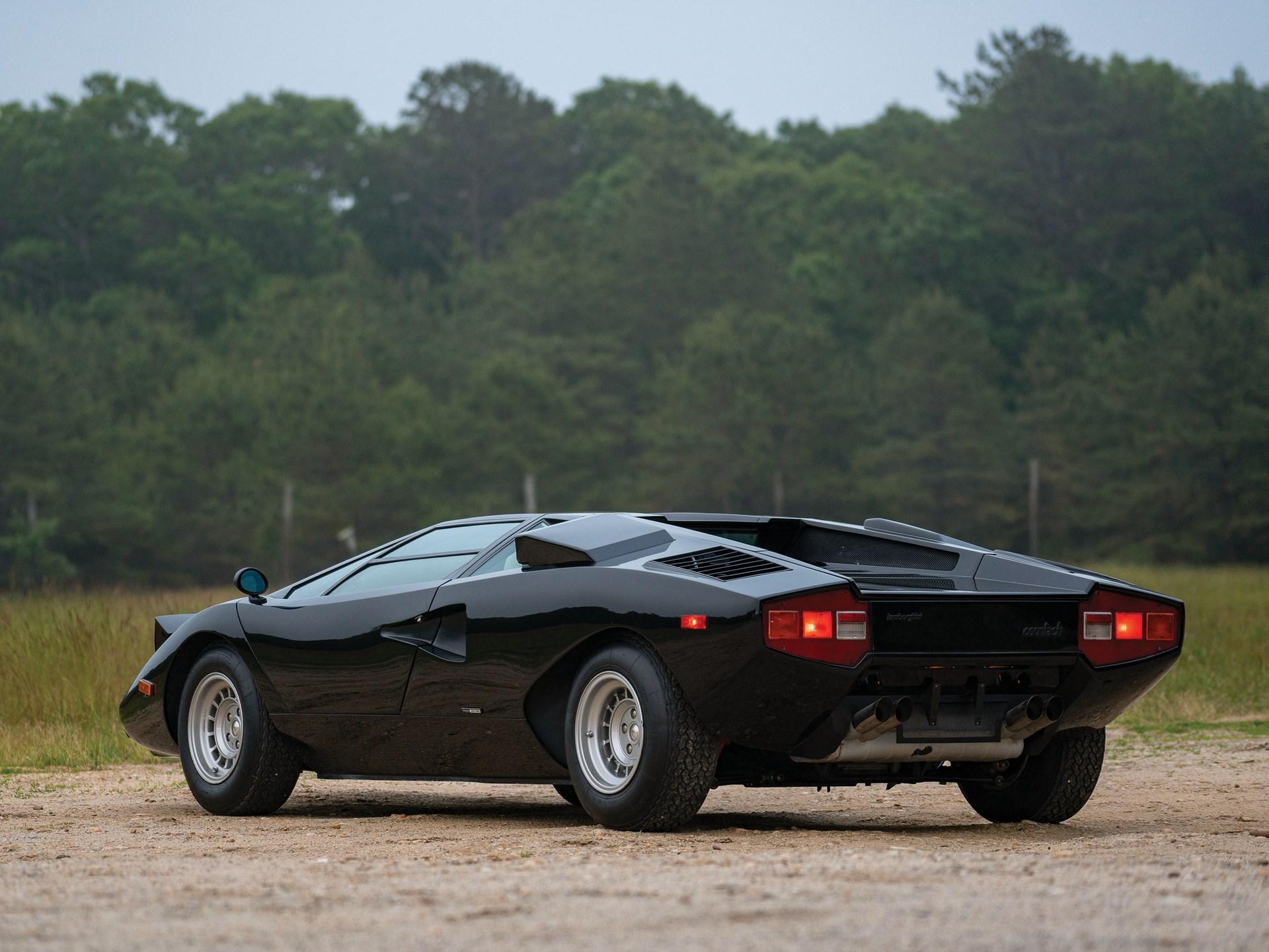 1976 Lamborghini Countach LP400 'Periscopio' by Bertone