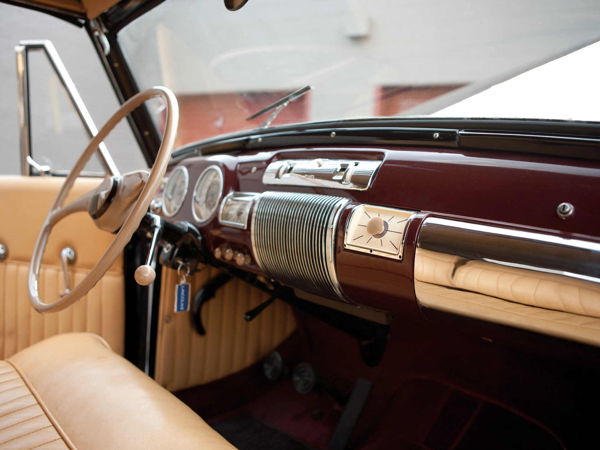 Rm Sotheby S 1940 Lincoln Zephyr Continental Cabriolet Hershey 2012