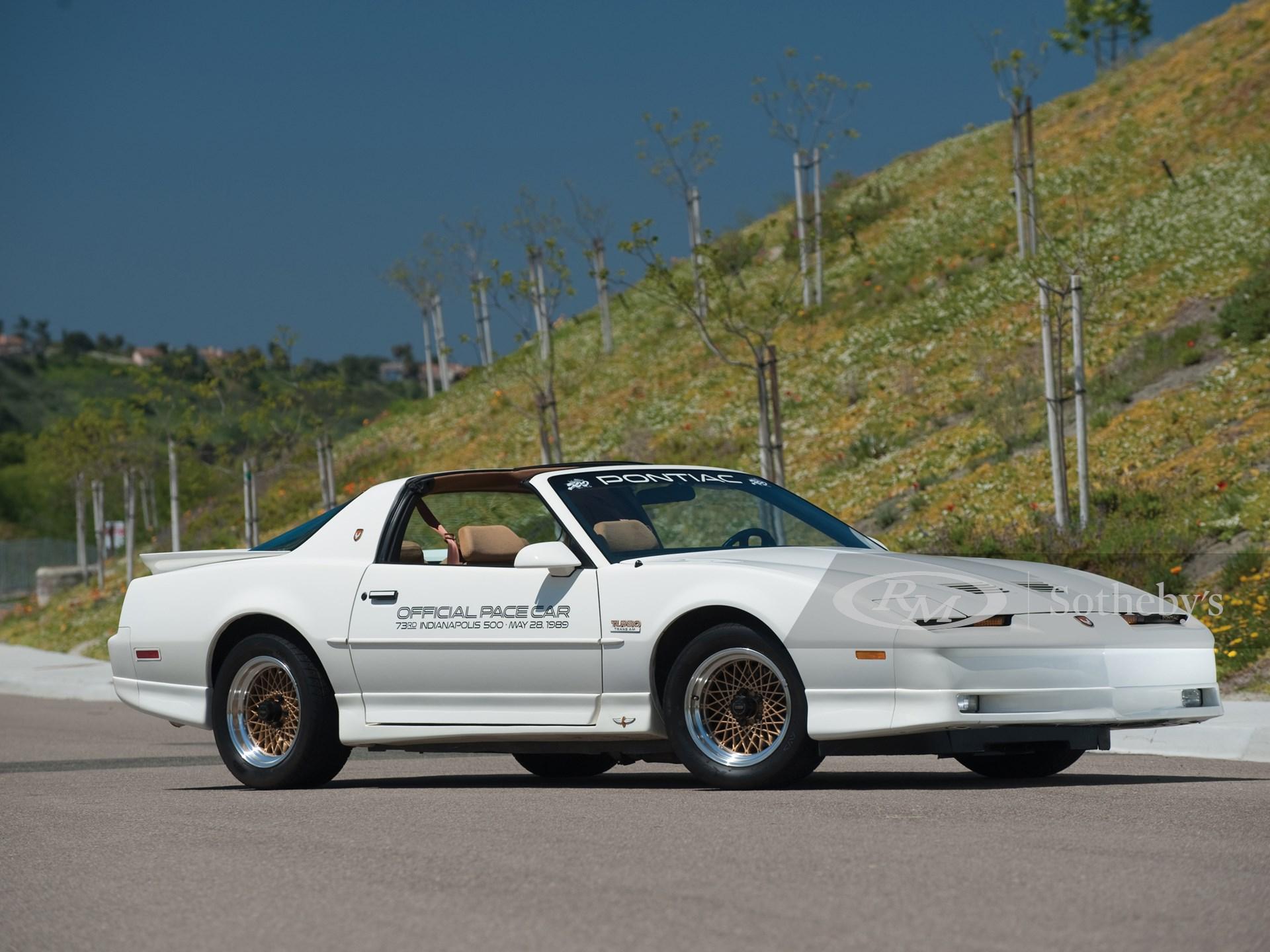 1989 Pontiac Firebird Trans Am 20th Anniversary Special Edition