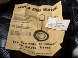 Davis Whitewall Tire Watch Key Fob by Sheffield Watch Inc., 1963 - $