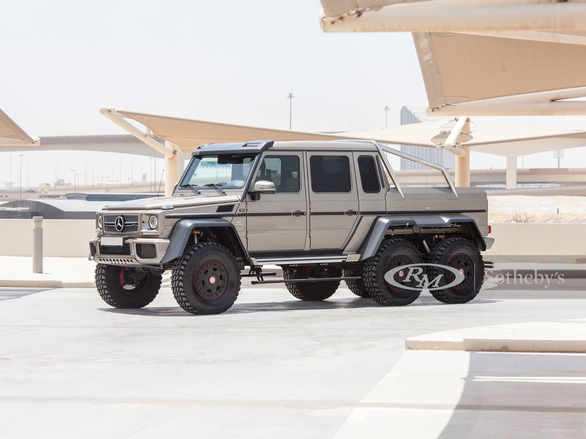2015 Mercedes Benz G63 Amg 6 6 Abu Dhabi 2019 Rm Sotheby S