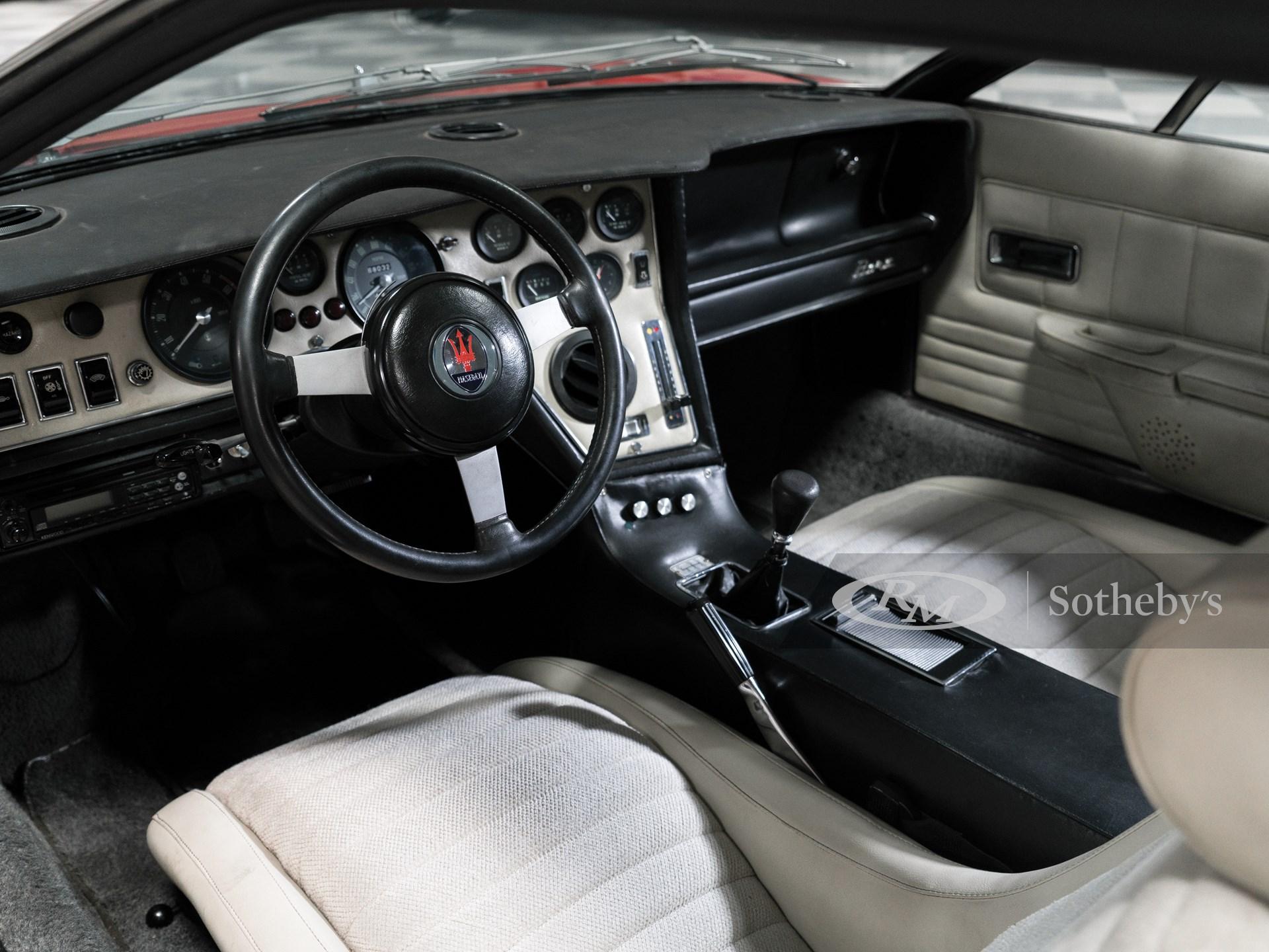 1973 Maserati Bora 4.9  -