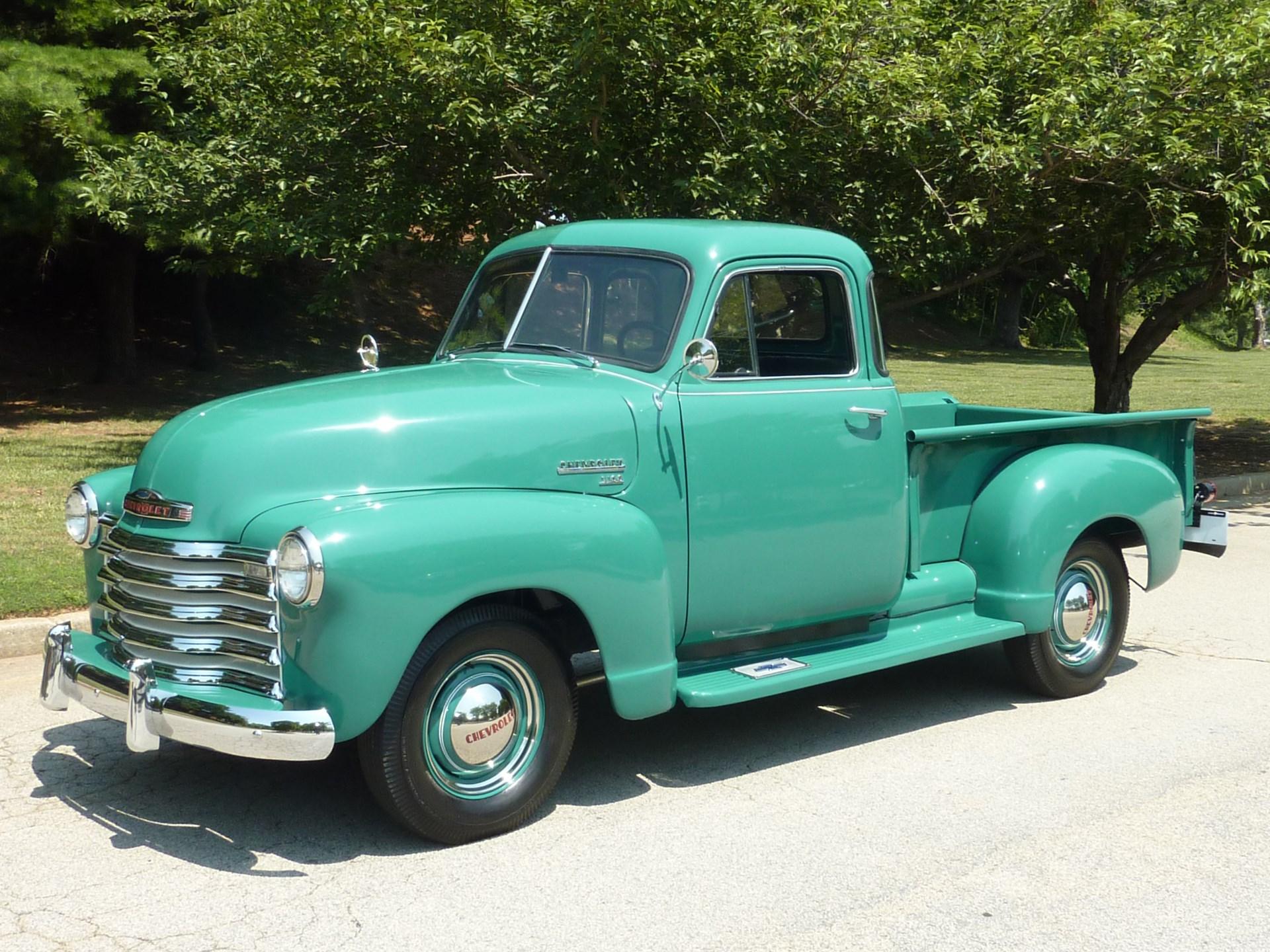 Rm Sothebys 1951 Chevrolet 3100 5 Window Pickup Truck Amelia 2 Door Hardtop