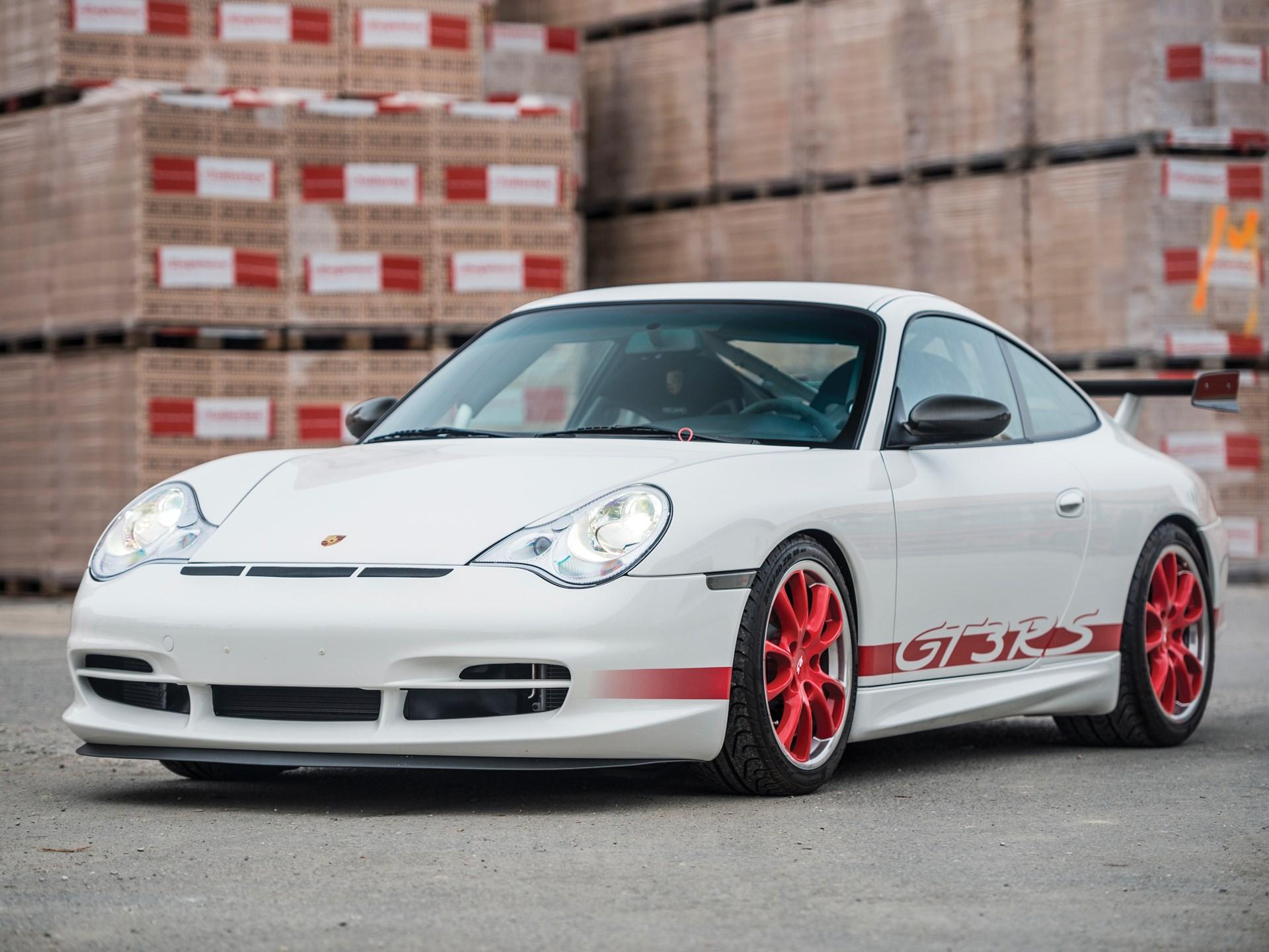Rm Sothebys 2004 Porsche 911 Gt3 Rs Paris 2017