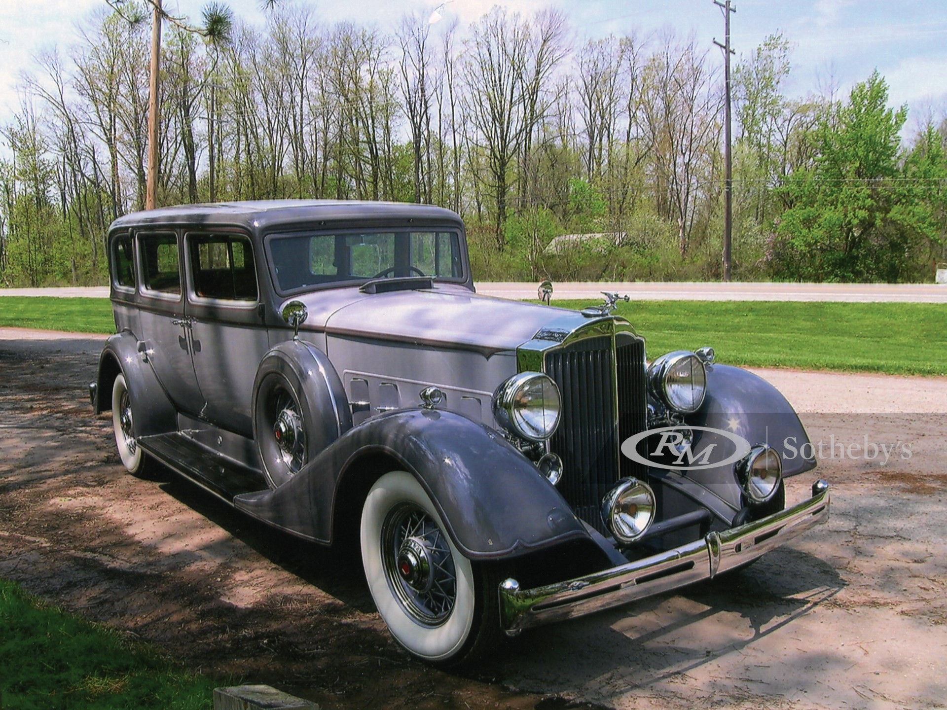 1934 Packard Super 8 Seven Passenger Sedan
