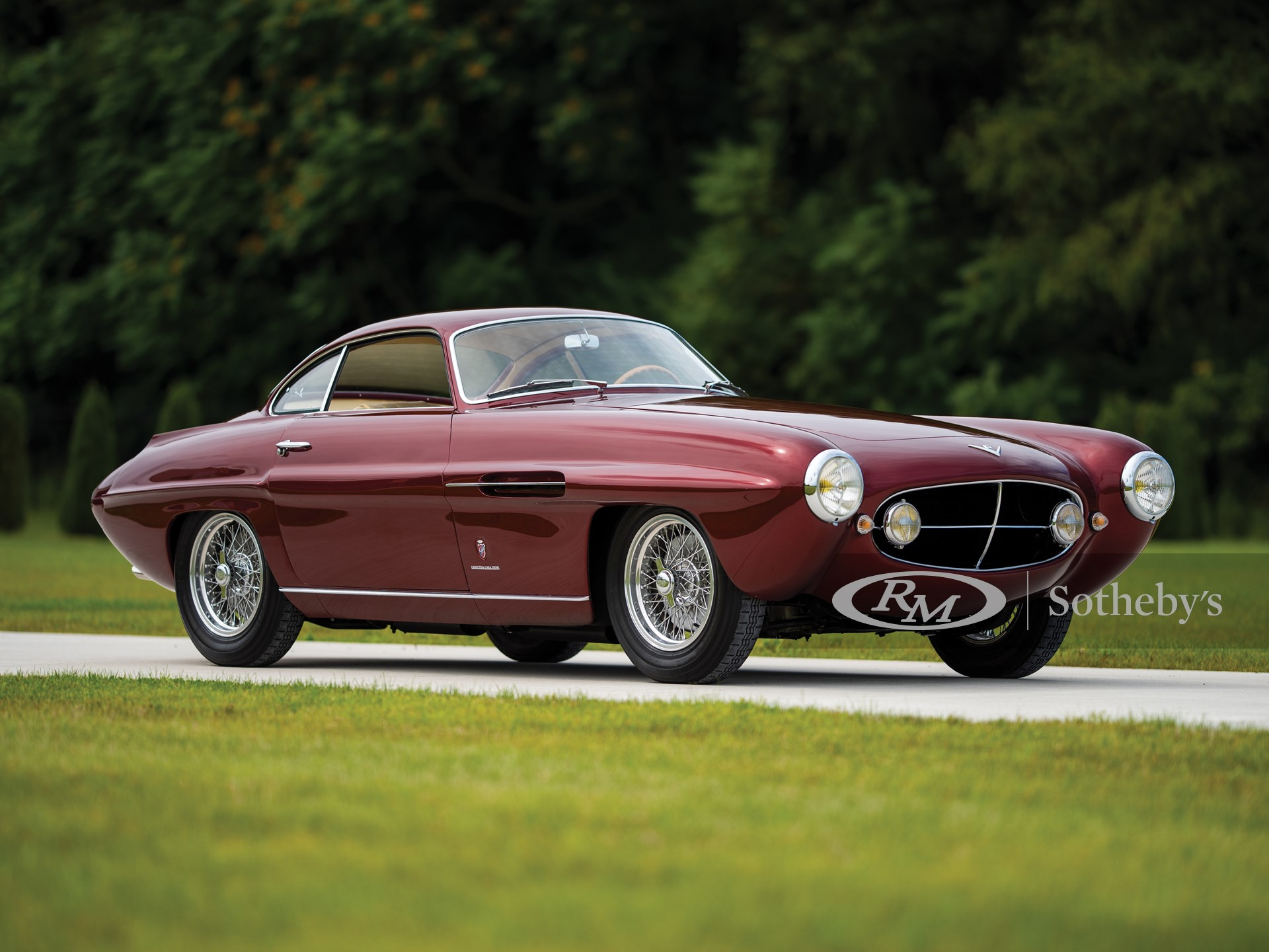 1953 Fiat 8V Supersonic by Ghia -