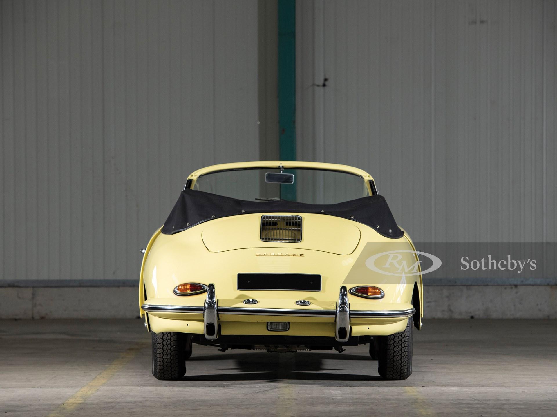 1960 Porsche 356 B Cabriolet by Reutter -