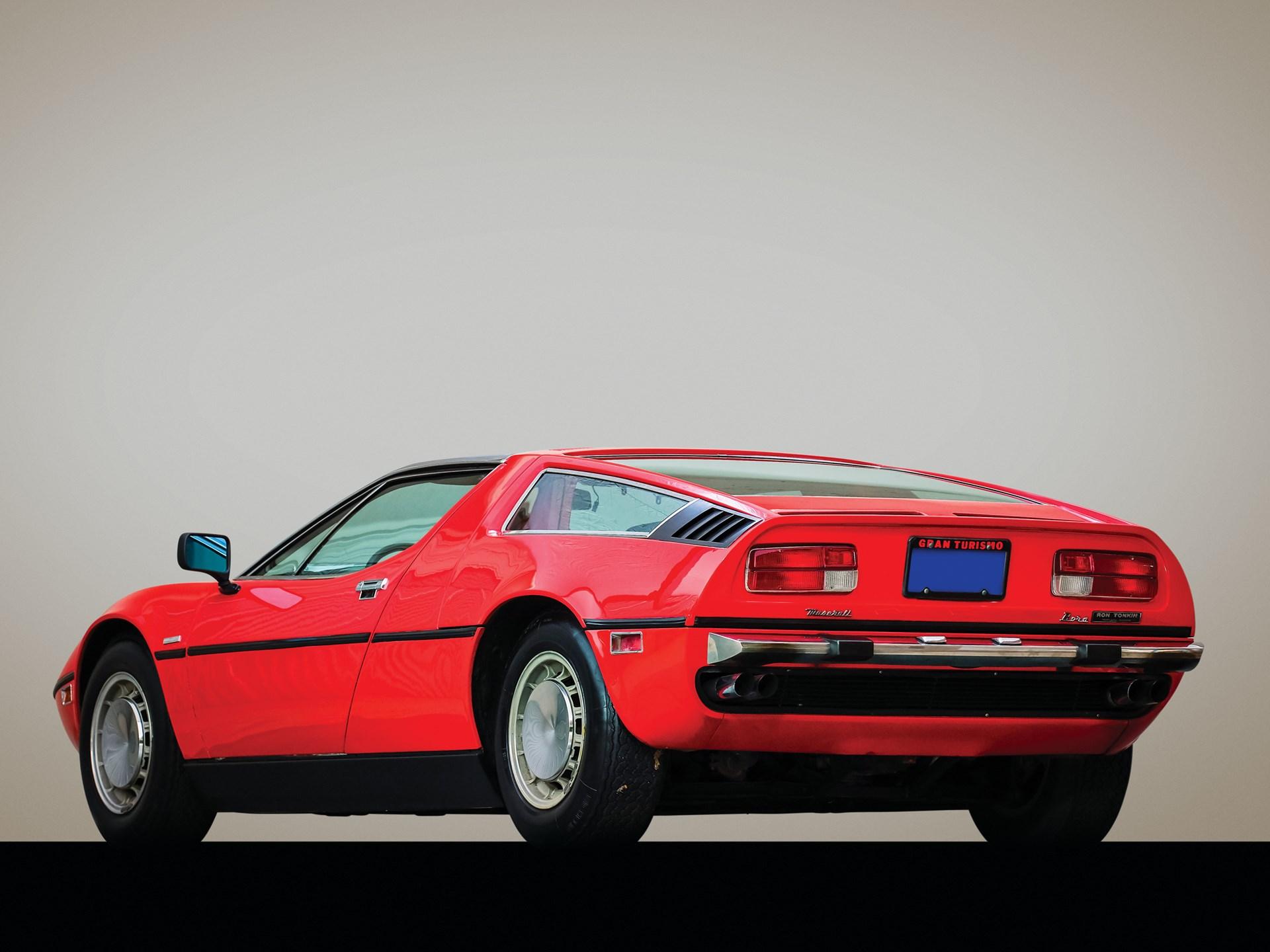 RM Sotheby's - 1973 Maserati Bora 4.9   Arizona 2020