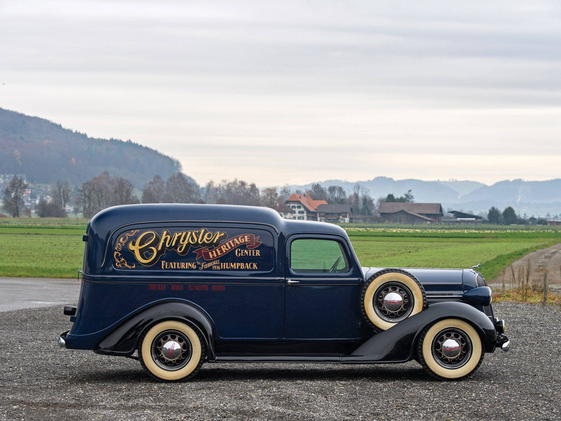 1936 Dodge LC 'Humpback' Panel Delivery