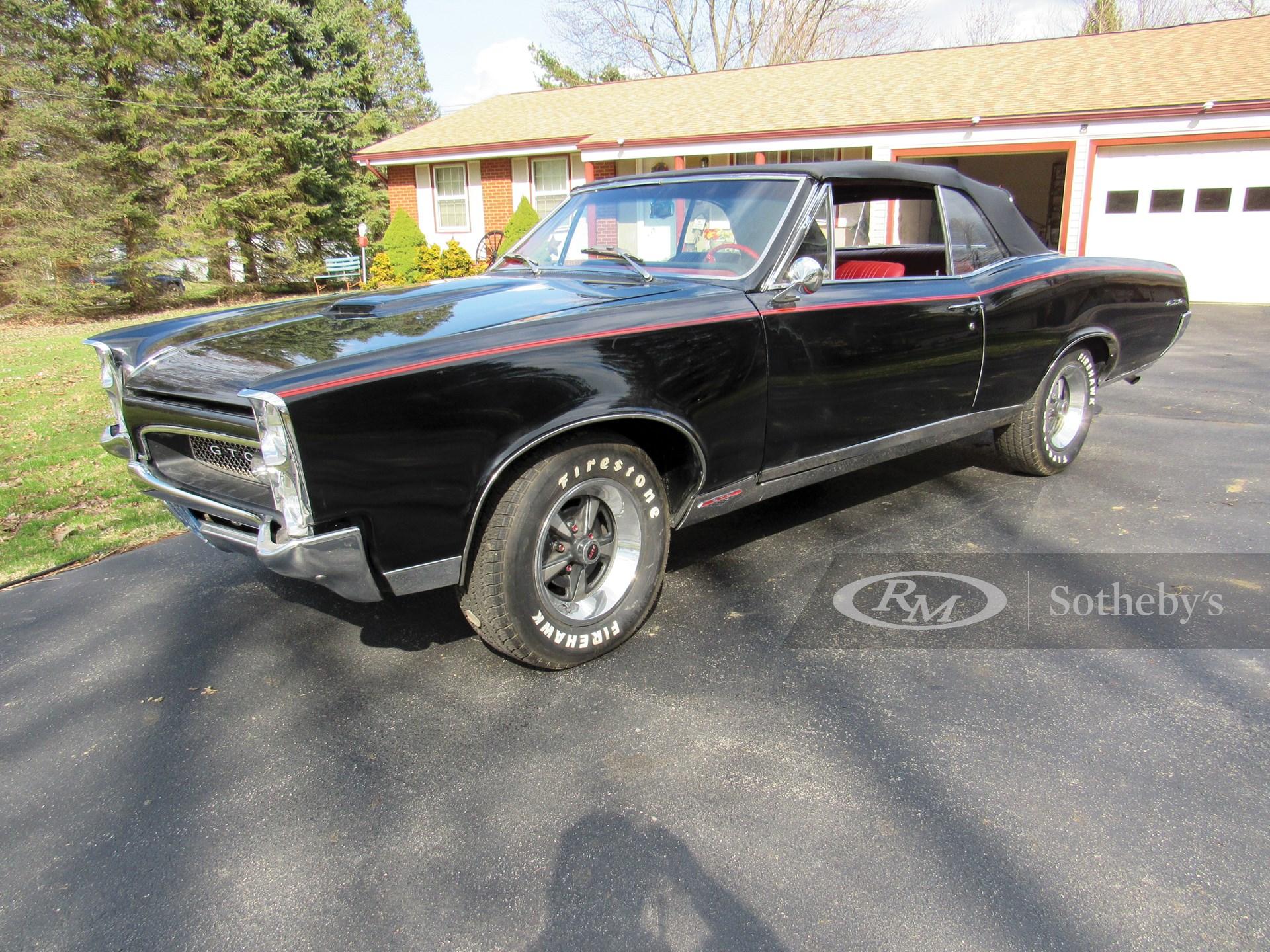 1967 Pontiac GTO Convertible  -