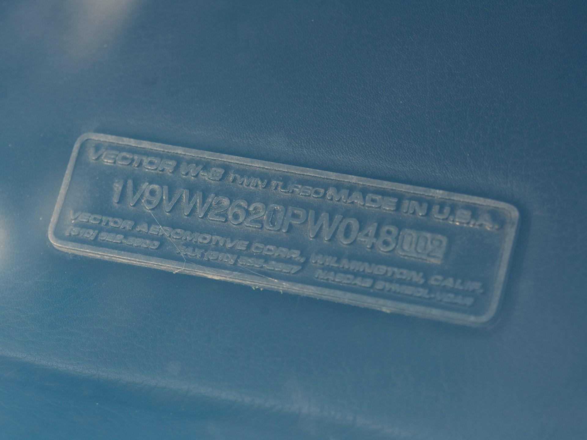 1993 Vector Avtech WX-3R Roadster Prototype