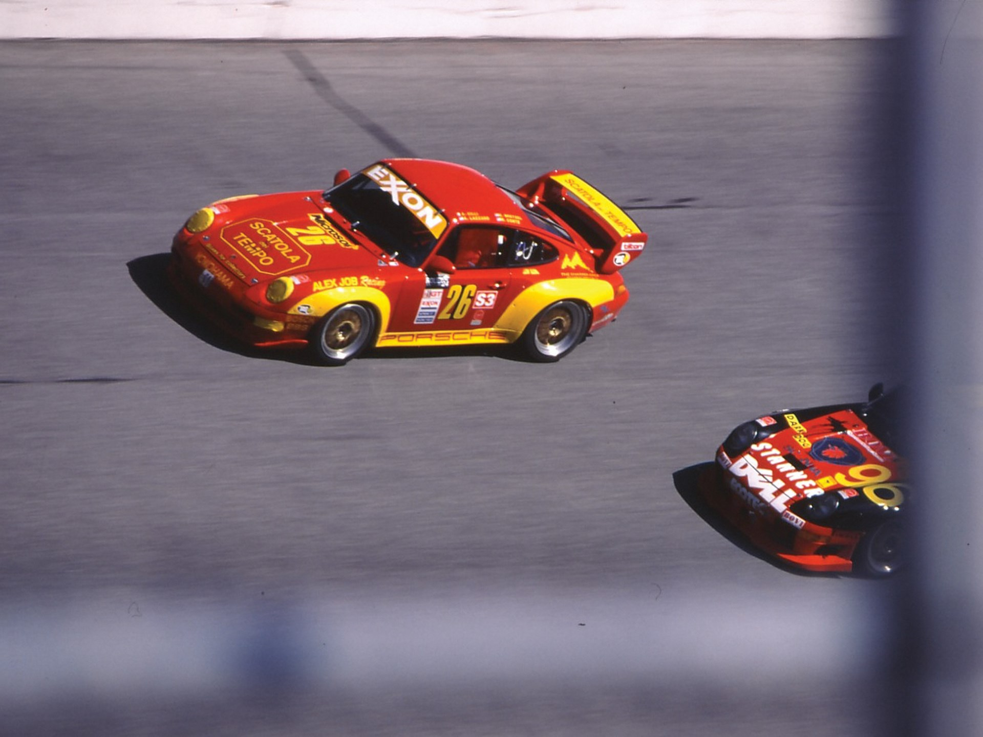 The RSR at the 1997 24 Hours of Daytona.